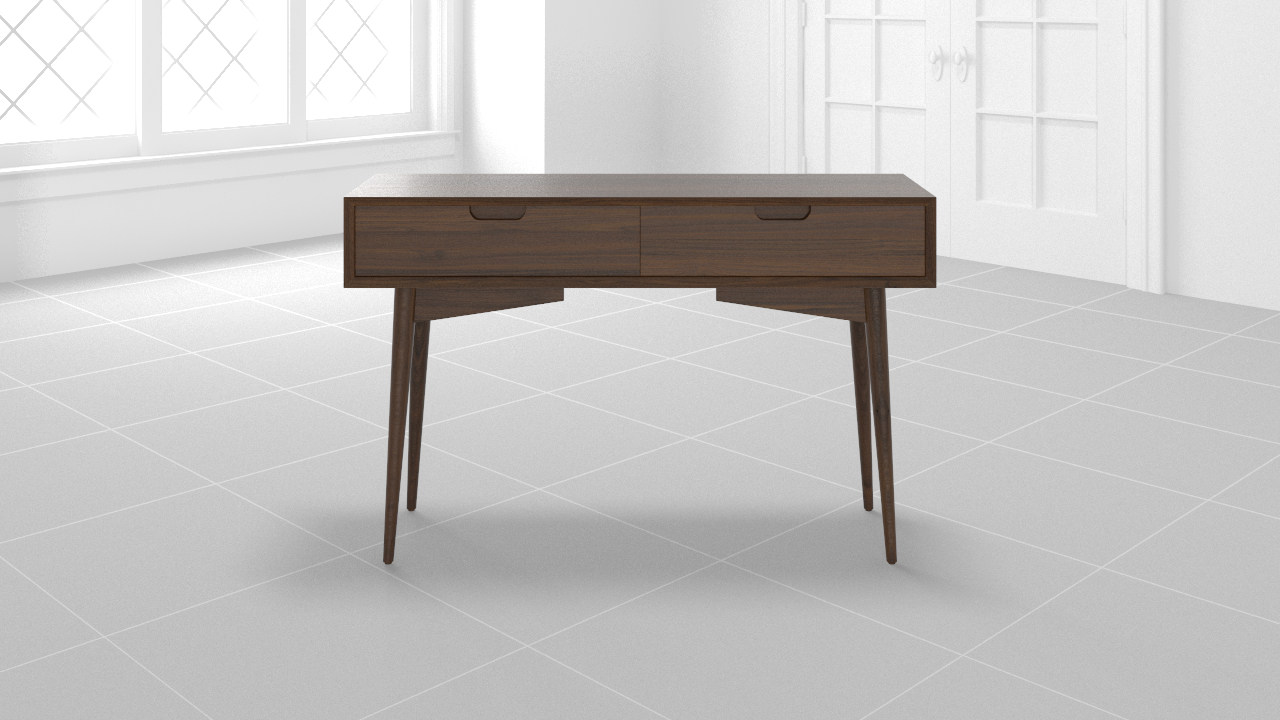 Modsy intended for Parsons Travertine Top & Stainless Steel Base 48X16 Console Tables (Image 22 of 30)