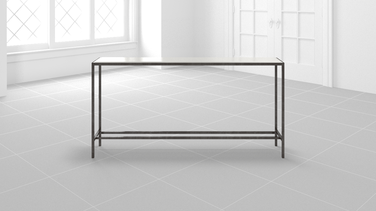 Modsy pertaining to Parsons Black Marble Top & Stainless Steel Base 48X16 Console Tables (Image 21 of 30)