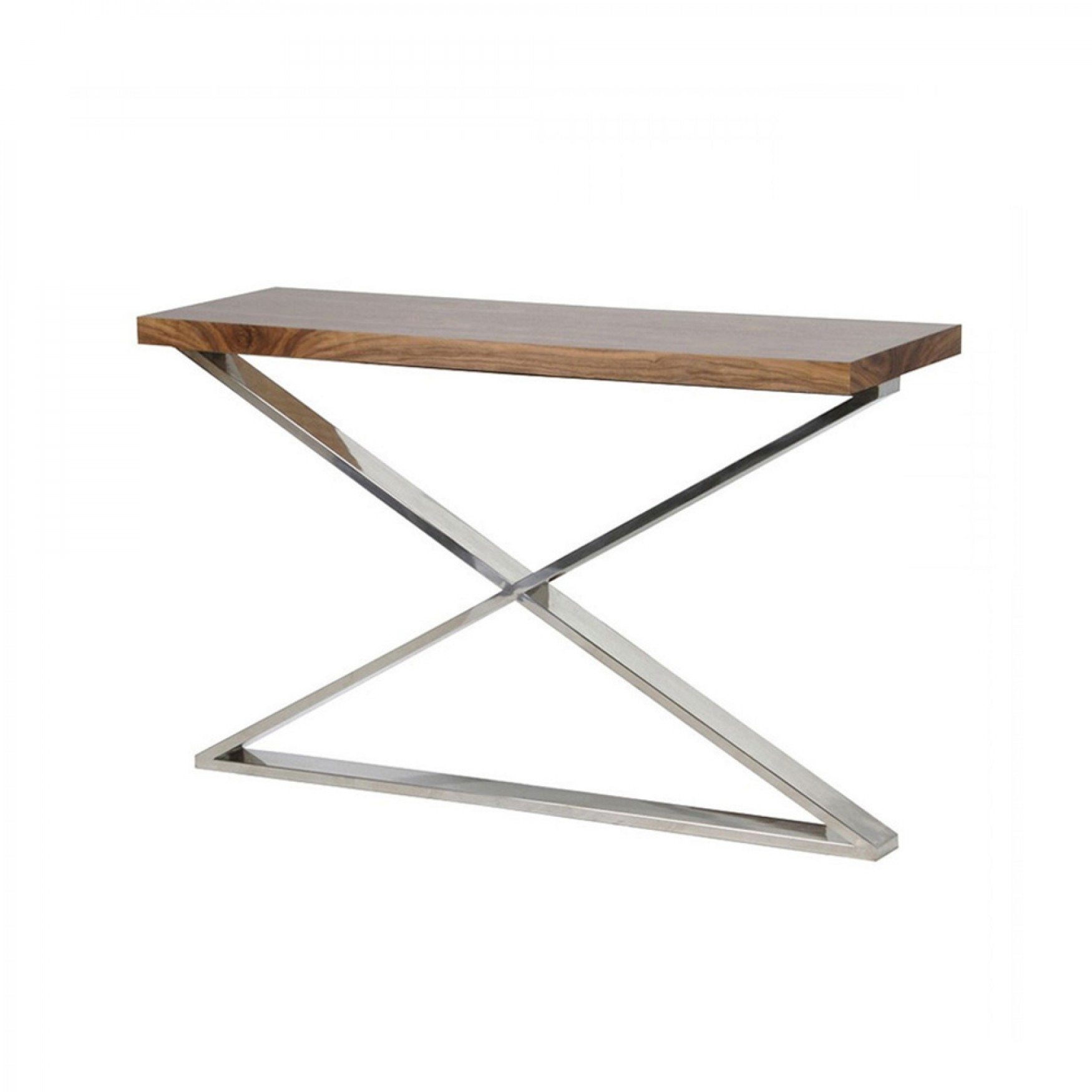 Morton X Frame Console Table With Frame Console Tables (View 3 of 30)