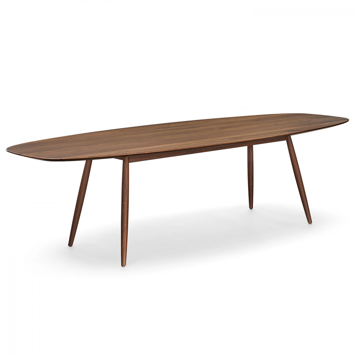 Moualla Dining Table with Walters Media Console Tables (Image 13 of 30)