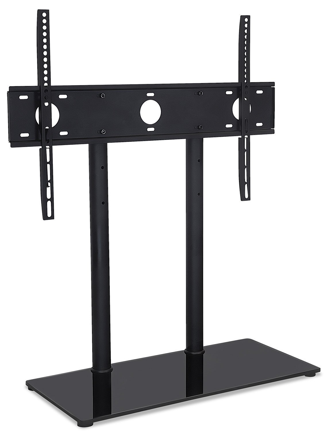Mount It Universal Tabletop Tv Stand And Av Media Fixed Desktop intended for Mayfield Plasma Console Tables (Image 11 of 30)