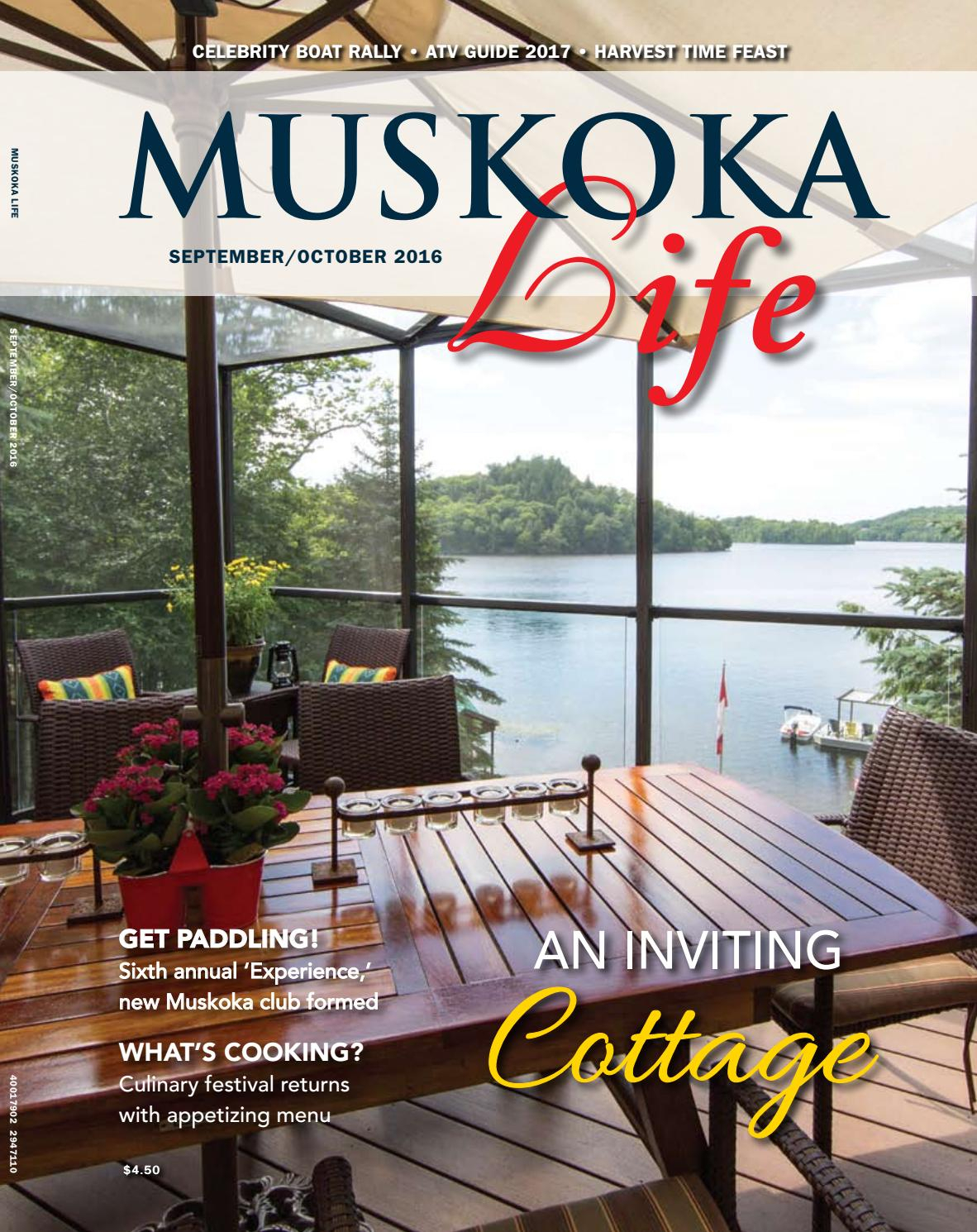 Muskoka Life Fall 2016goodlife Magazine – Simcoe County – Issuu With Regard To Bale Rustic Grey 82 Inch Tv Stands (View 20 of 30)