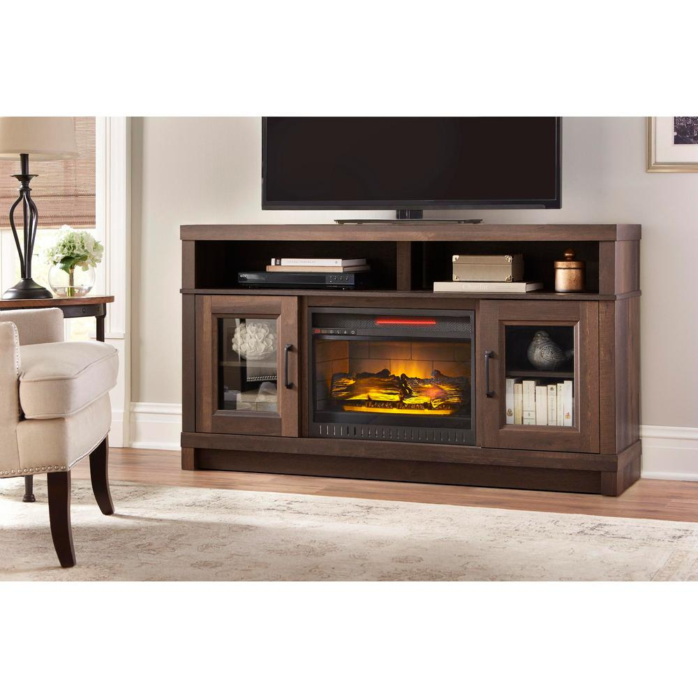 Muskoka Sinclair 60 In. Bluetooth Media Electric Fireplace Tv Stand intended for Sinclair Blue 74 Inch Tv Stands (Image 17 of 30)