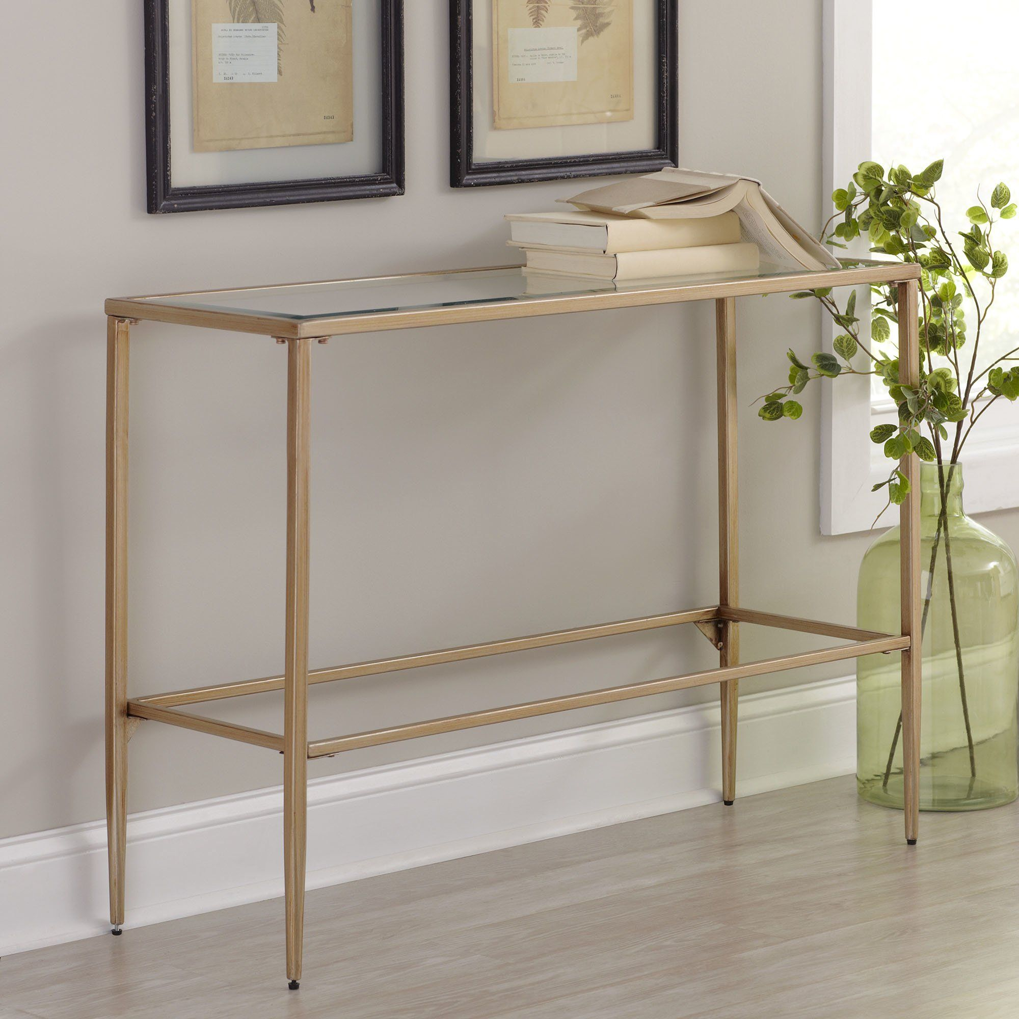 Nash Console Table | N E W H O U S E | Pinterest | Console Tables Regarding Elke Glass Console Tables With Brass Base (View 15 of 30)