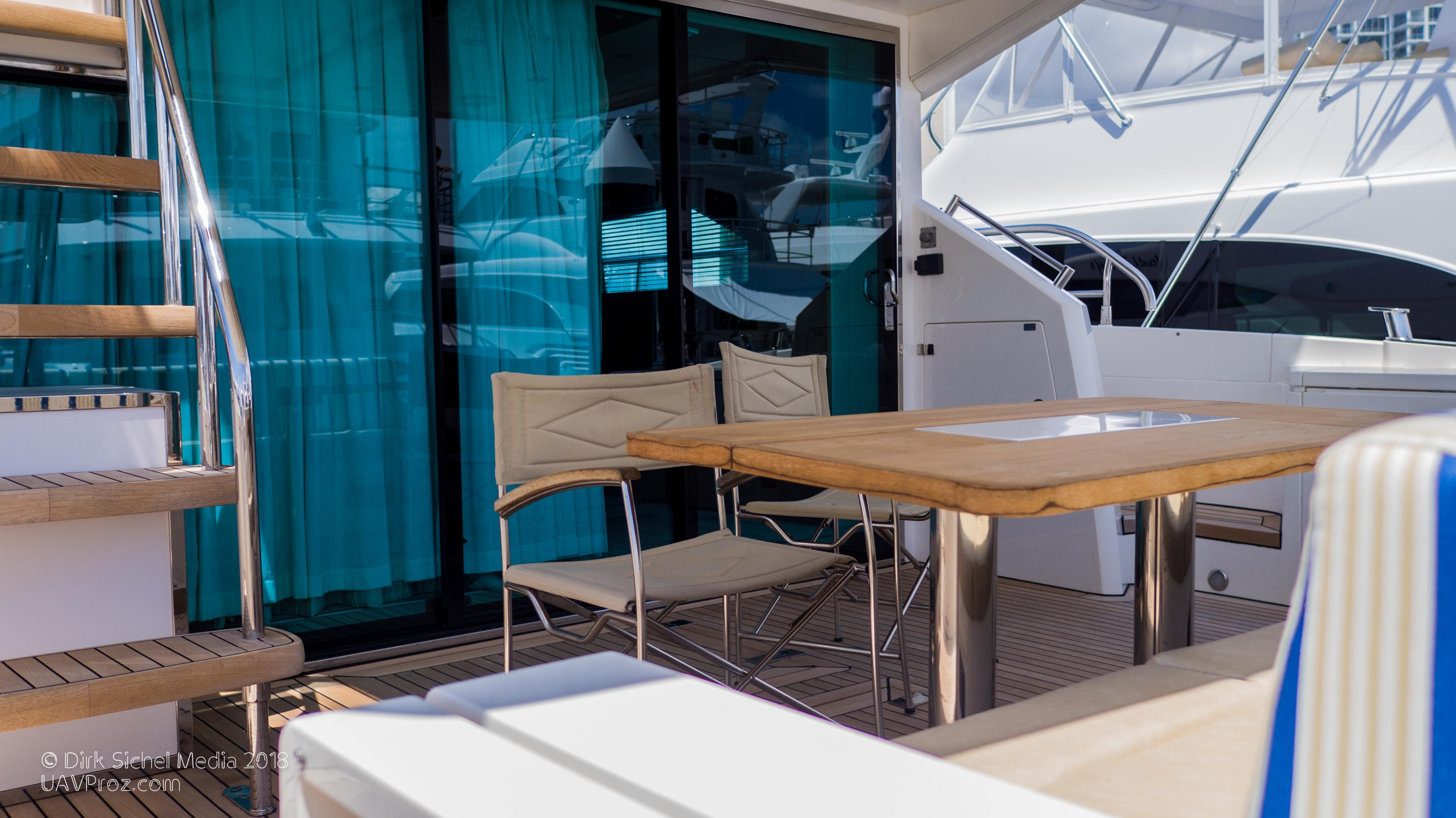 Nauti Buoy's Fairline 2012 Squadron 65 65 Yacht For Sale In Us regarding Mikelson Media Console Tables (Image 17 of 30)