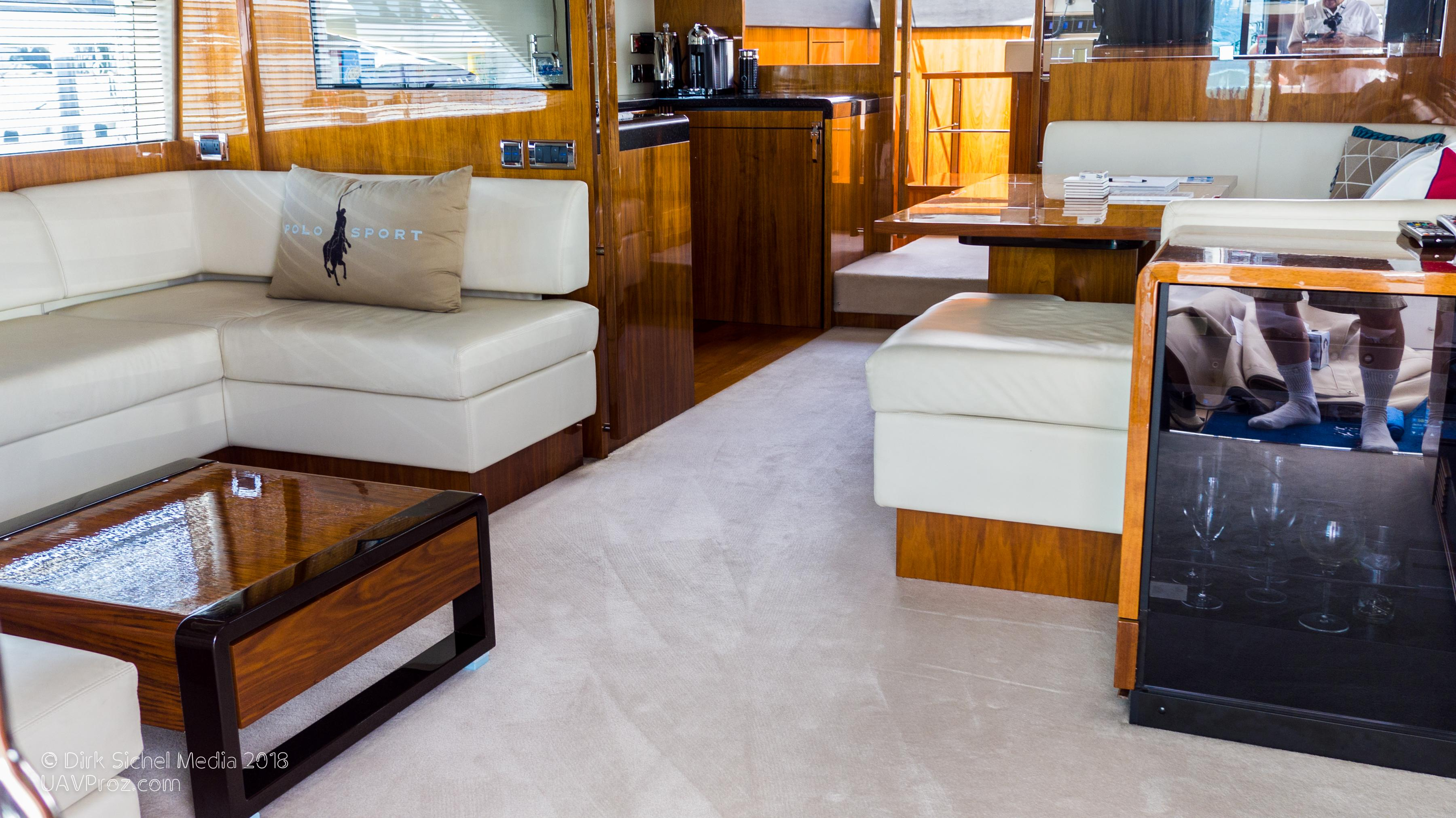 Nauti Buoy's Fairline 2012 Squadron 65 65 Yacht For Sale In Us Regarding Mikelson Media Console Tables (Photo 6 of 30)