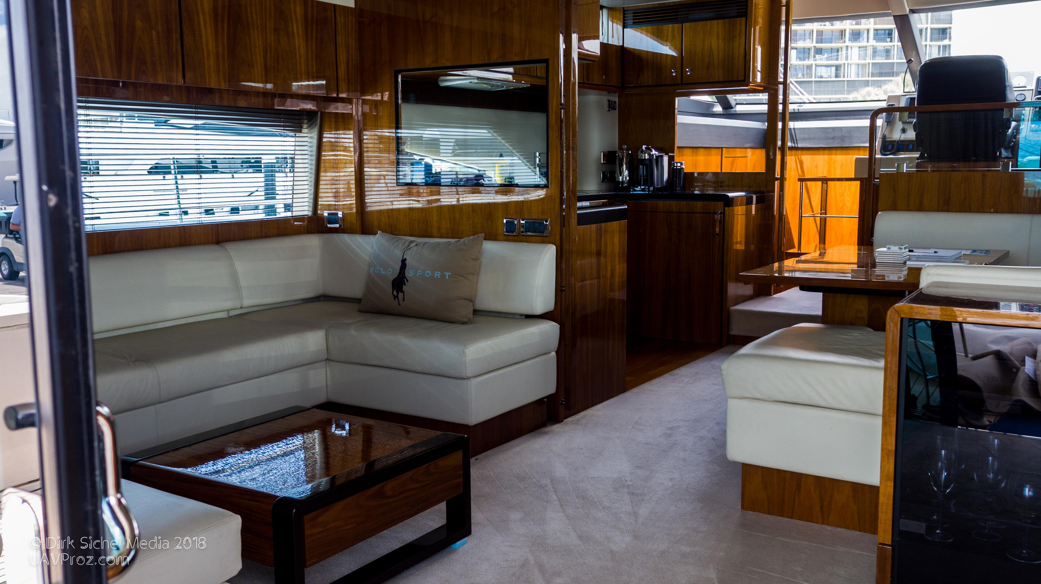 Nauti Buoy's Fairline 2012 Squadron 65 65 Yacht For Sale In Us With Regard To Mikelson Media Console Tables (Photo 8 of 30)