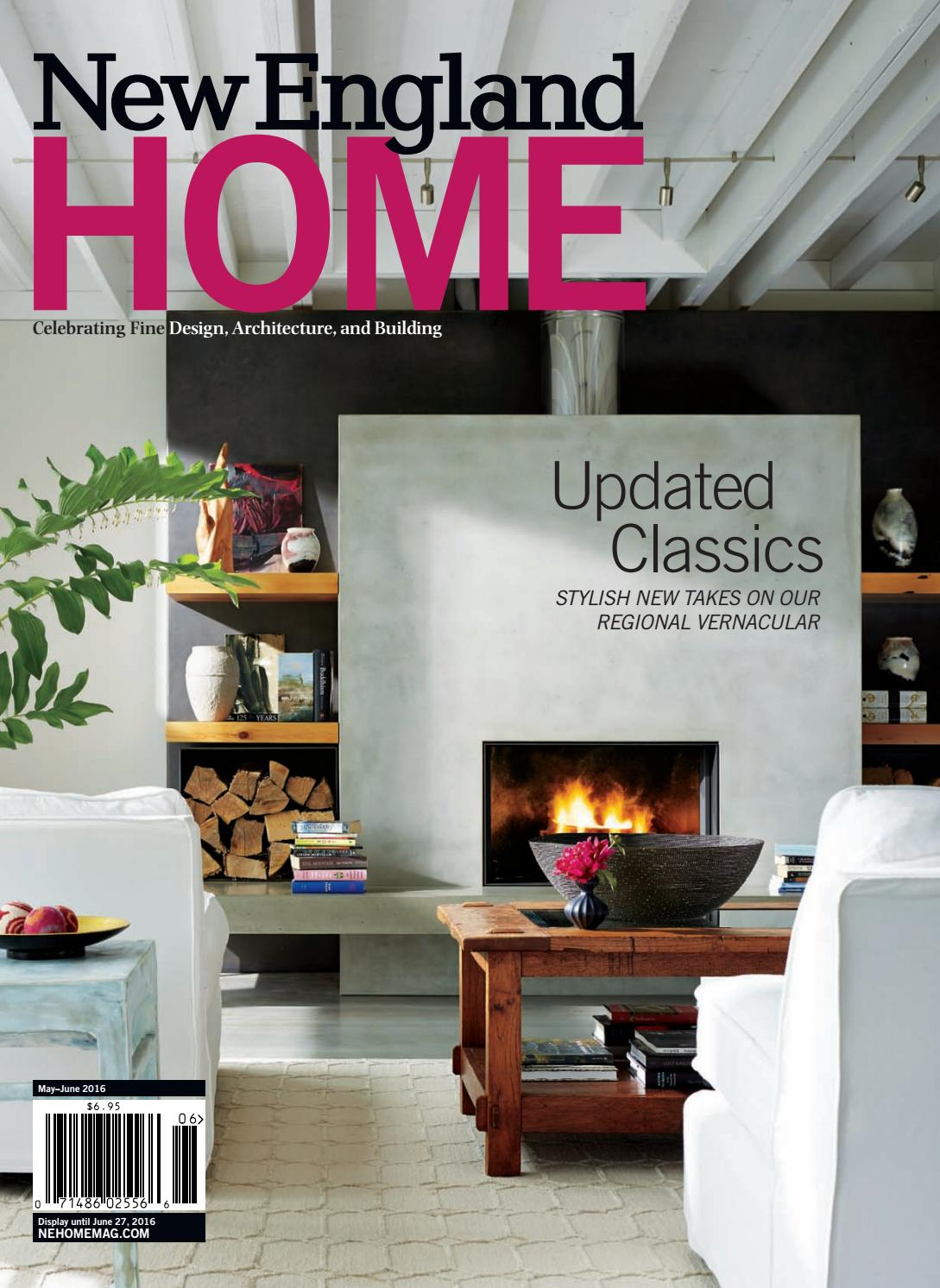 New England Home May - June 2016New England Home Magazine Llc pertaining to Scattered Geo Console Tables (Image 20 of 30)