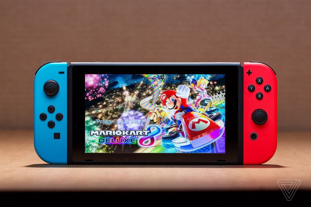 Nintendo's Switch Can Be Hacked To Run Custom Apps And Games – The Verge Within Switch Console Tables (View 21 of 30)