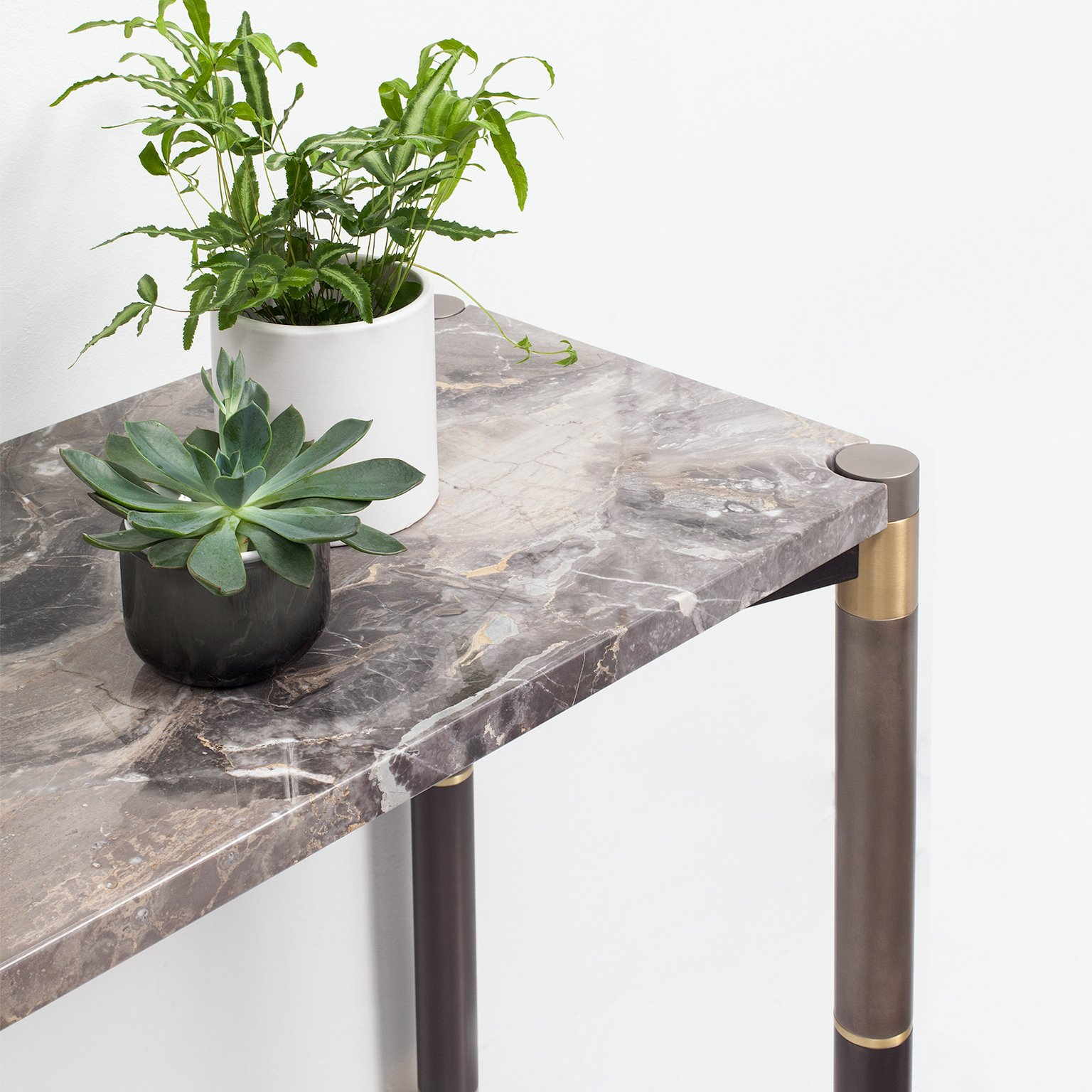 Nova Marble Console Tableavram Rusu Studio For Sale At 1Stdibs Throughout Mix Agate Metal Frame Console Tables (Photo 28 of 30)