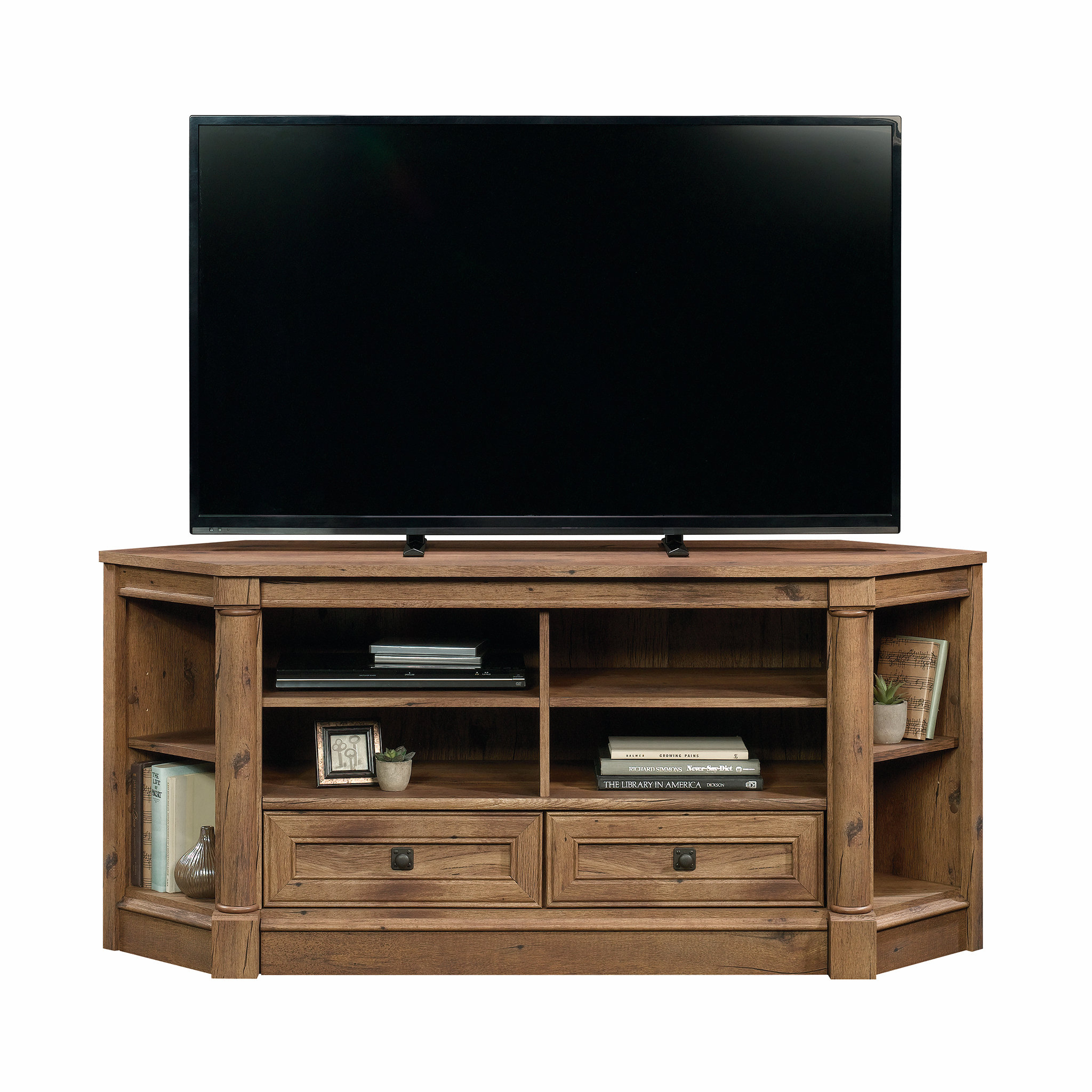 "Orviston Corner Tv Stand For Tvs Up To 60"" & Reviews 