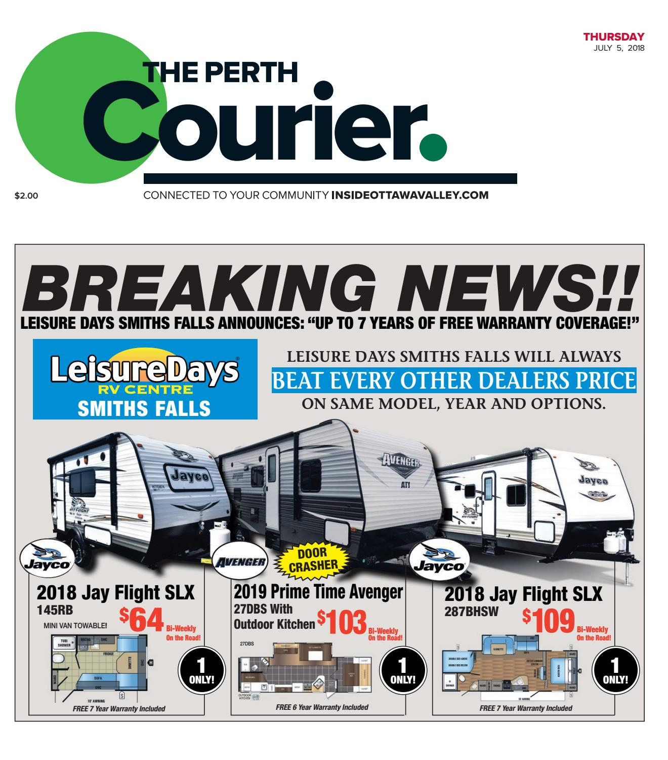 Otv P A 20180705Metroland East - The Perth Courier - Issuu with Jaxon 76 Inch Plasma Console Tables (Image 21 of 30)