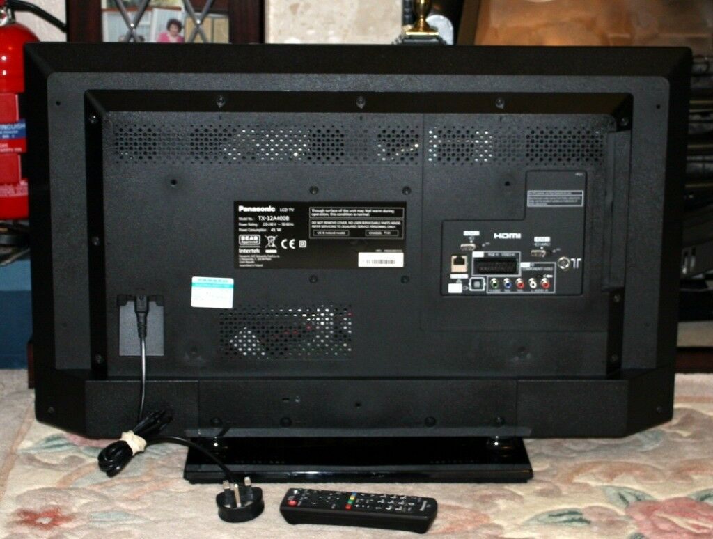 Panasonic 32 Inch Led Tv With Freeview Hd | In Wakefield, West Regarding Wakefield 97 Inch Tv Stands (Photo 16 of 30)