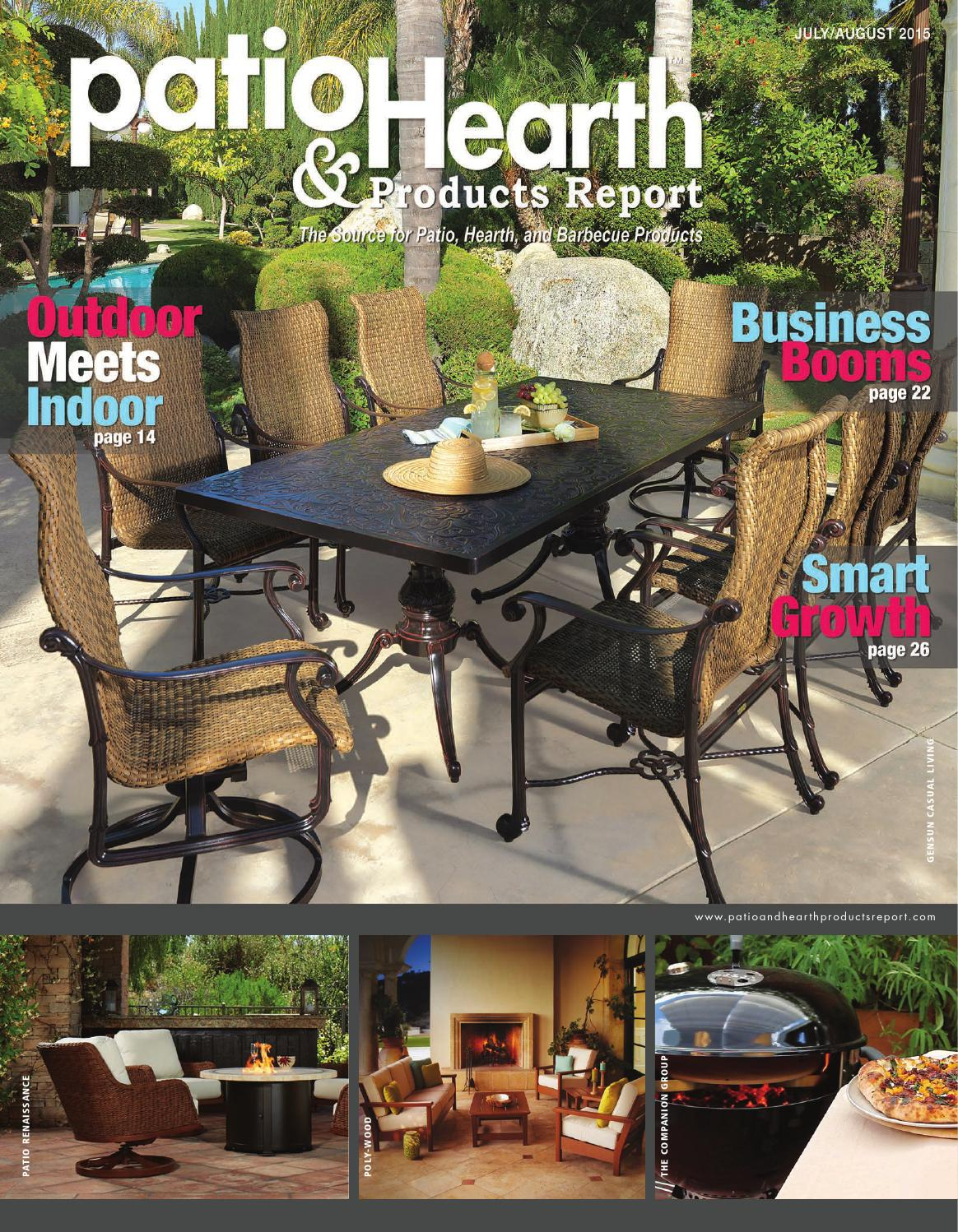 Patio & Hearth Products Report July/august 2015Peninsula Media Within Casey Umber 66 Inch Tv Stands (View 11 of 30)
