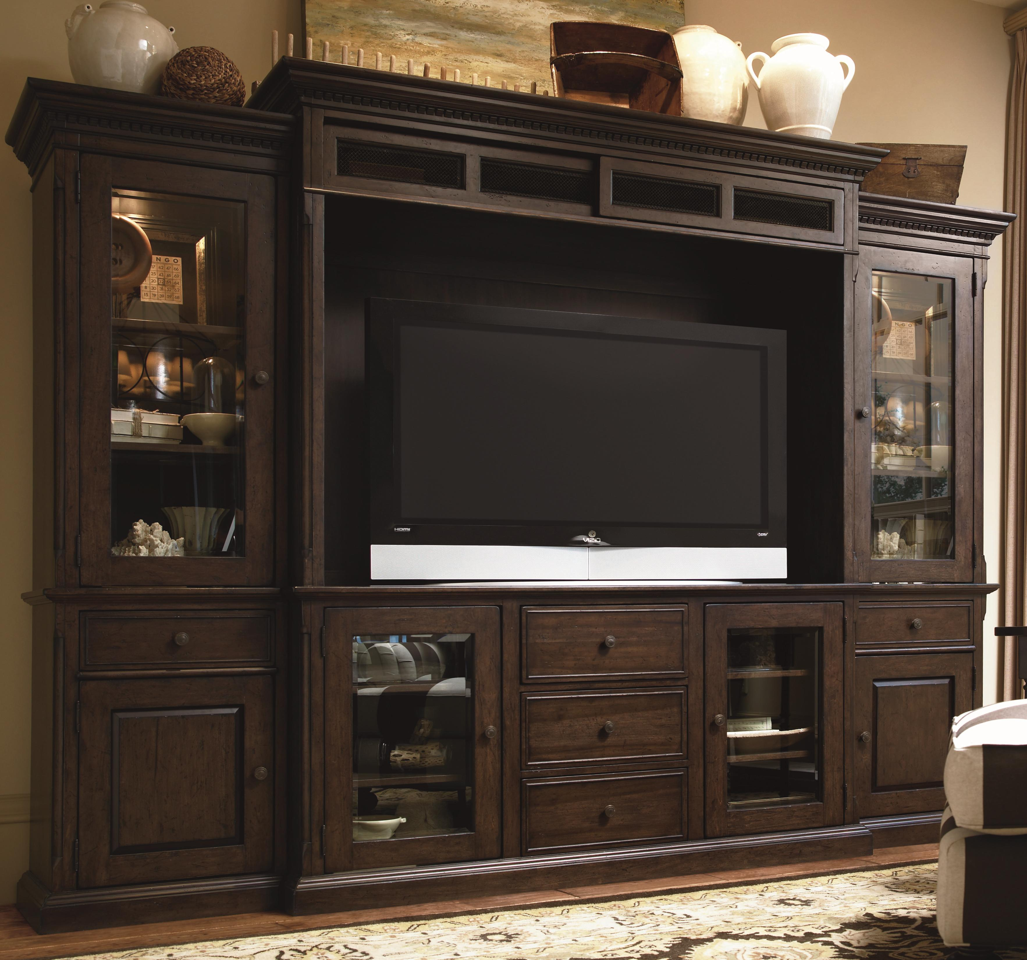 Paula Deenuniversal Down Home 193966He Entertainment Console Within Lauderdale 62 Inch Tv Stands (Photo 11 of 30)