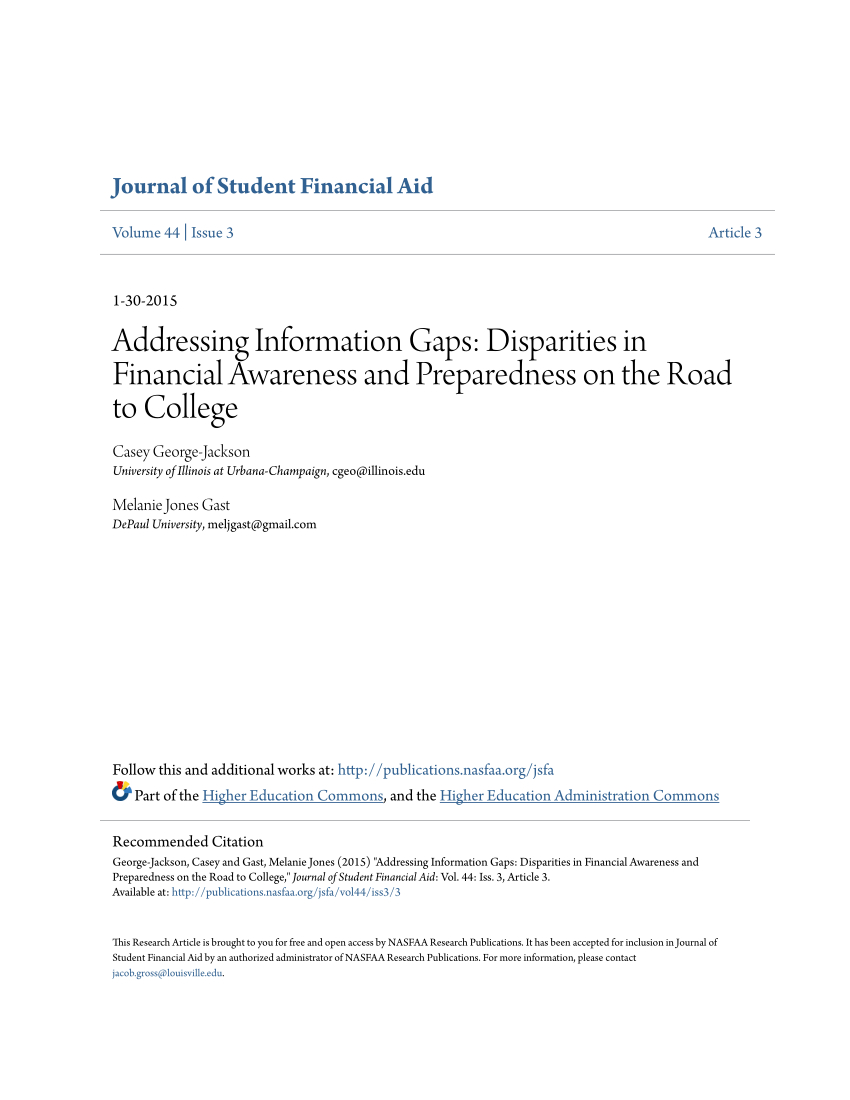 Pdf) Addressing Information Gaps: Disparities In Financial Awareness Within Casey Umber 54 Inch Tv Stands (View 14 of 26)
