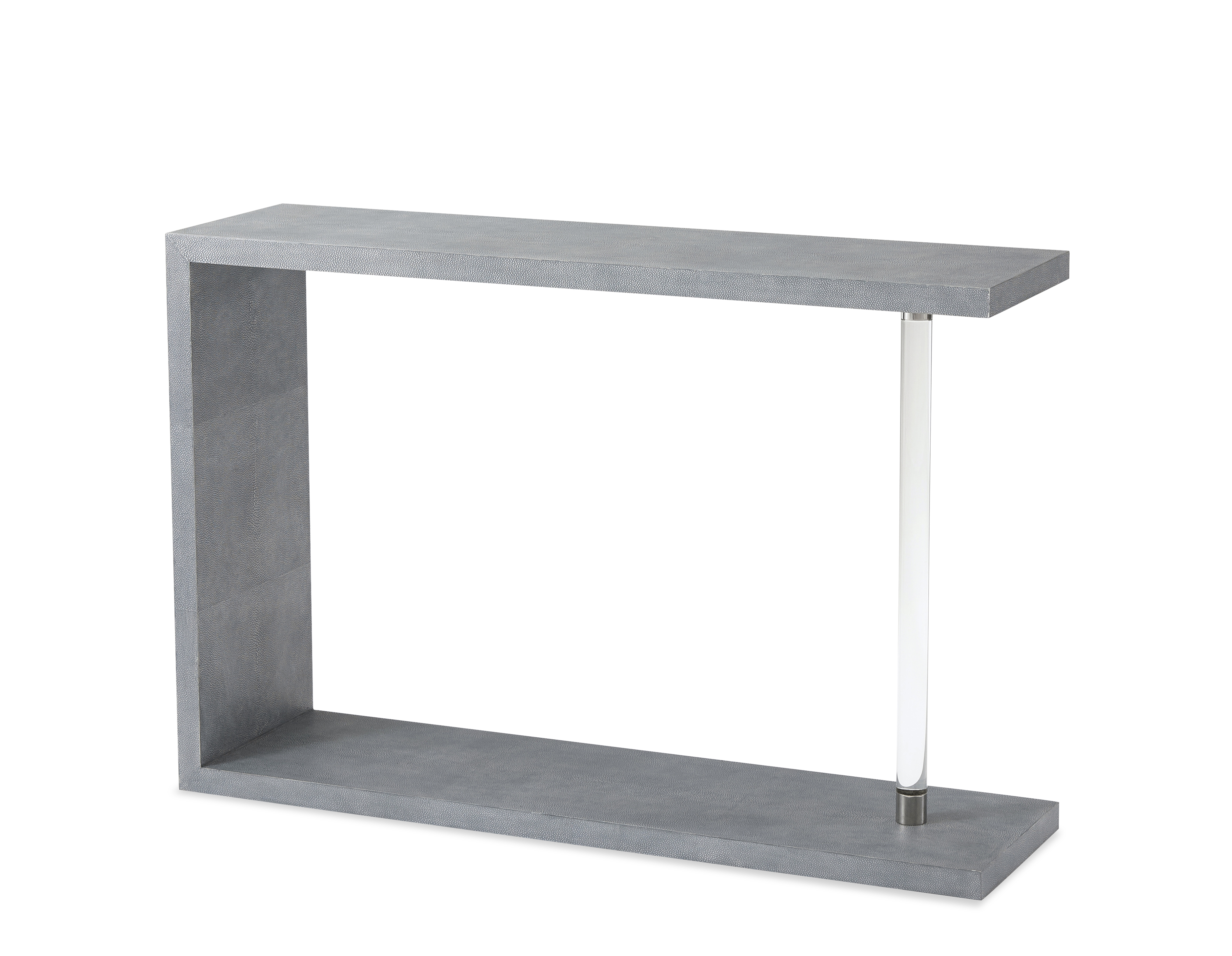 Phenomenon Console Table : Living Room : Console Tables : Theodore With Regard To Grey Shagreen Media Console Tables (View 10 of 30)