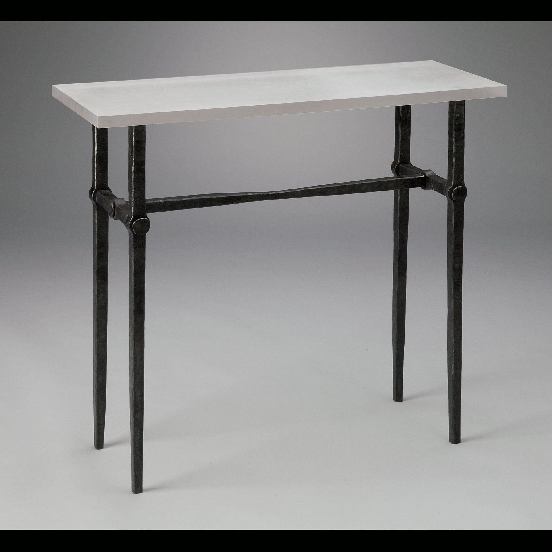 Pinjulia Forbes On Patio Ideas   Table, Console Table, Narrow In Parsons Walnut Top & Dark Steel Base 48X16 Console Tables (Photo 4 of 30)