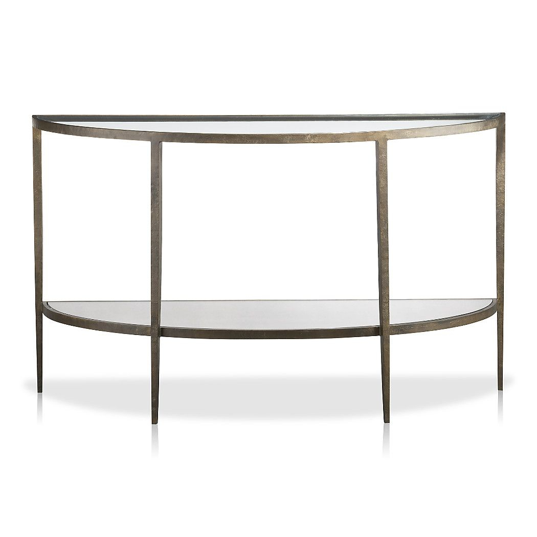 Pinmartha Mine On Lynx | Console Table, Console, Table Intended For Clairemont Demilune Console Tables (View 24 of 30)
