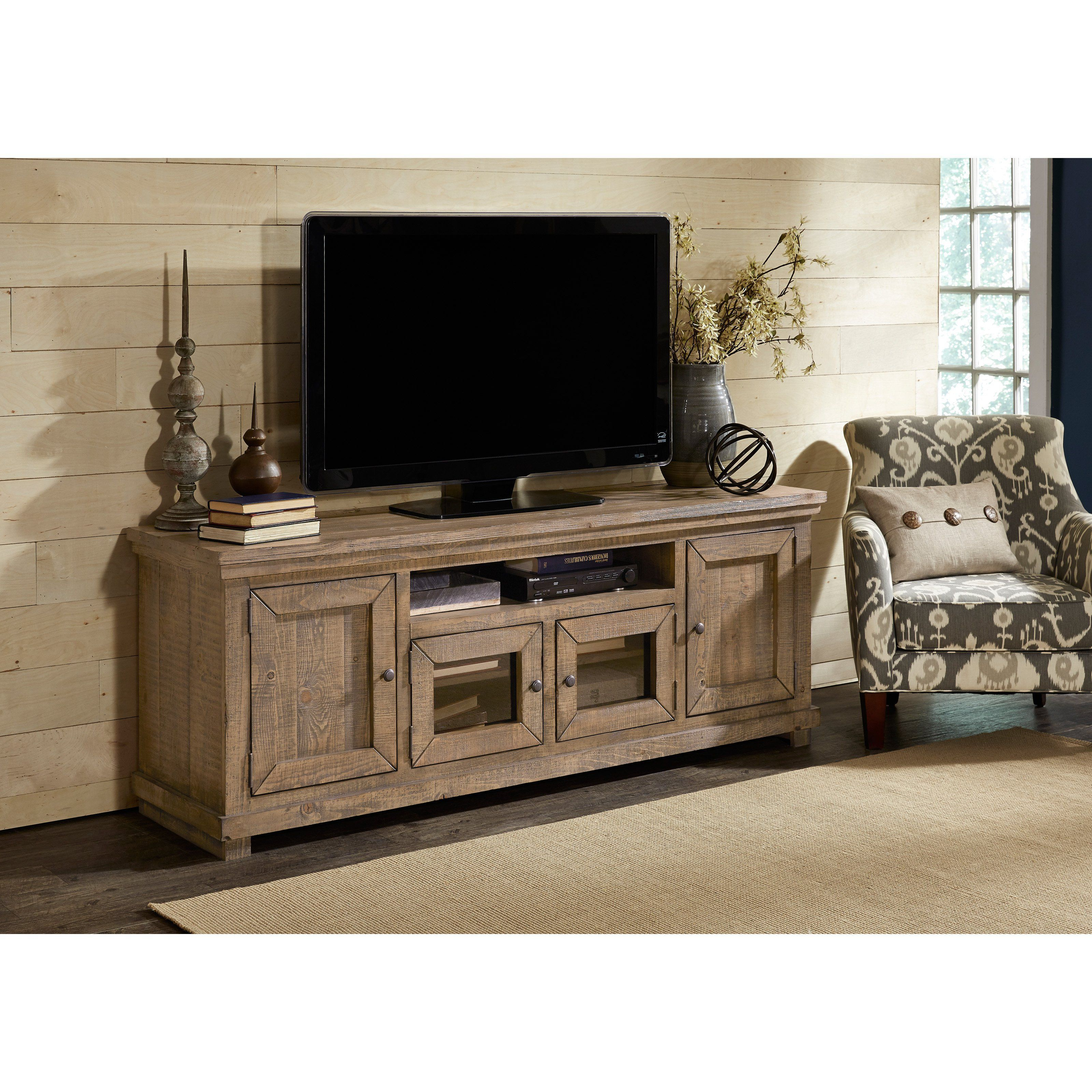 Progressive Furniture Willow 74 In. Tv Console - P635E-74 | Products regarding Sinclair Blue 74 Inch Tv Stands (Image 18 of 30)