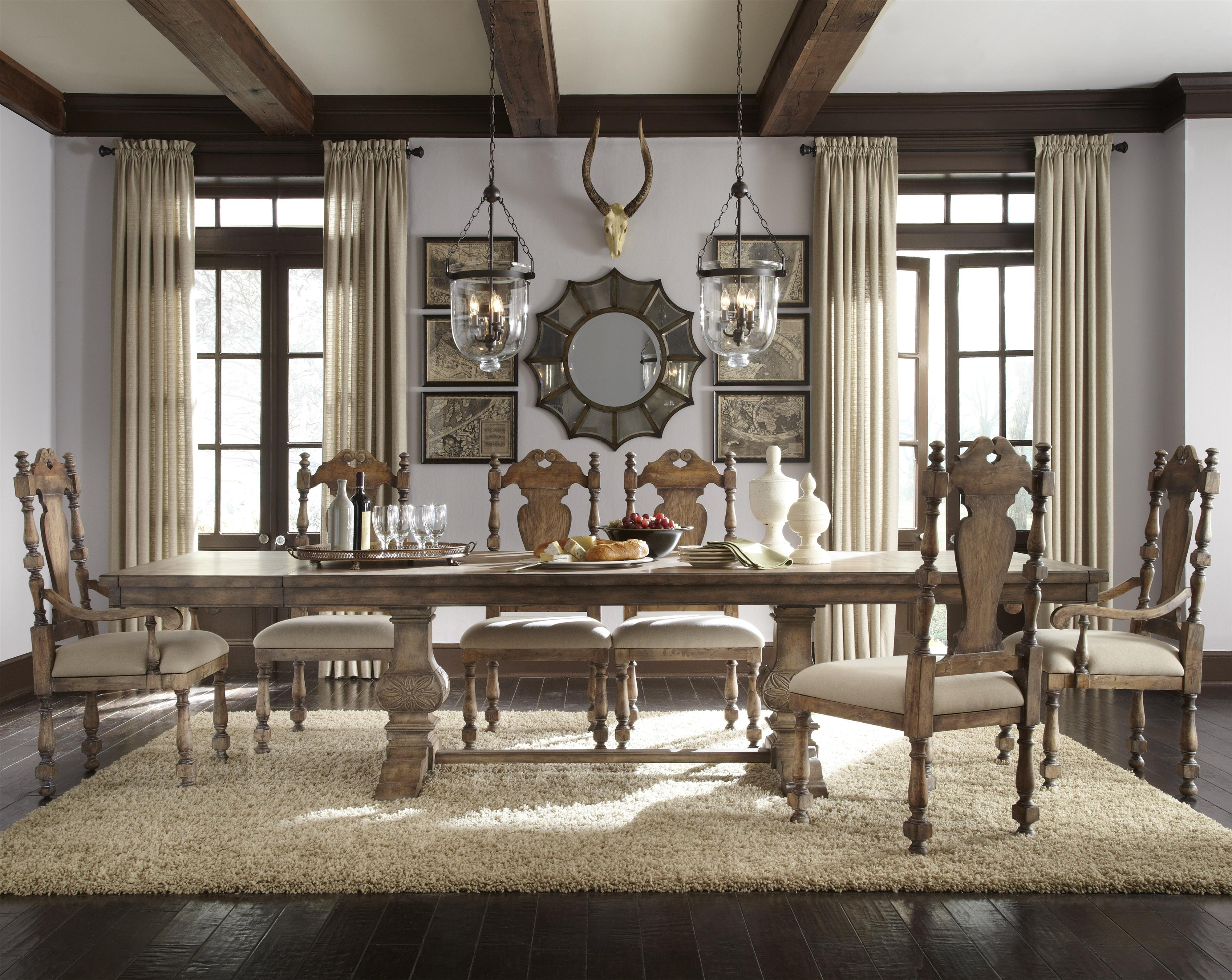 Pulaski Furniture Accentrics Home 7 Piece Desdemona Table & Kyra In Kyra Console Tables (View 24 of 30)