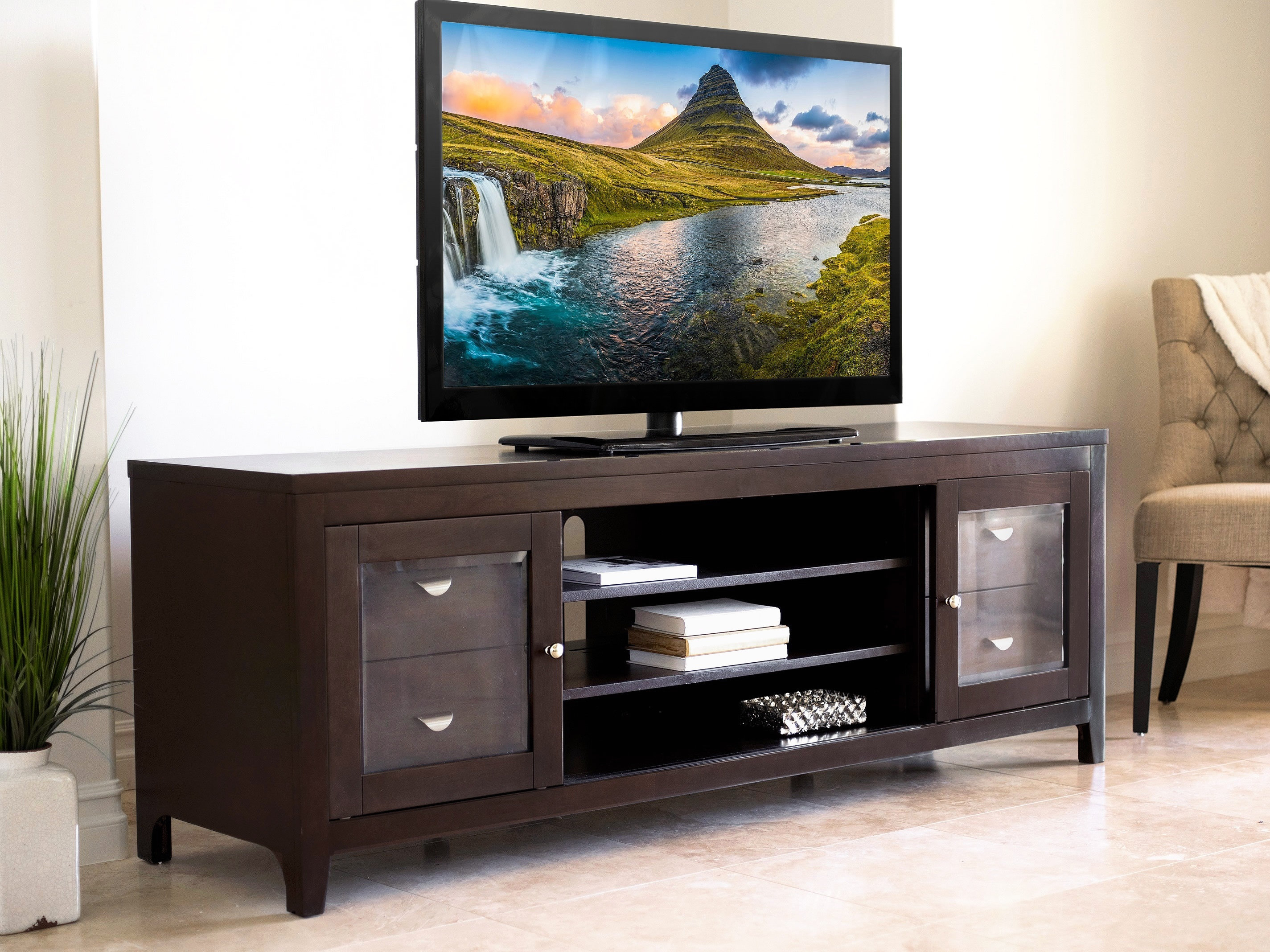 """Red Barrel Studio Spilker Tv Stand For Tvs Up To 70"""" & Reviews 
