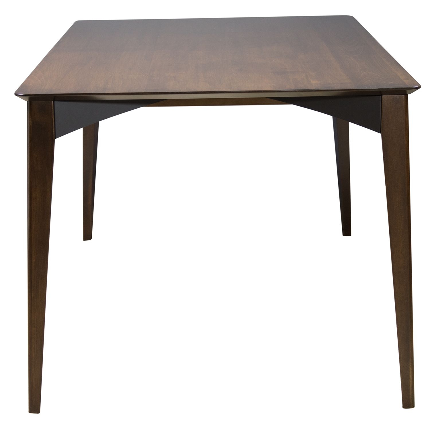 Remi Dining Table In Amaretto Finish From Saloom (View 10 of 30)