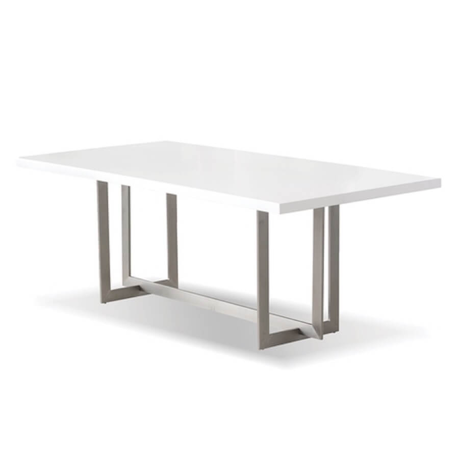 Remi Dining Table | Industrial Revolution Modern Furniture Store In Regarding Remi Console Tables (View 20 of 30)