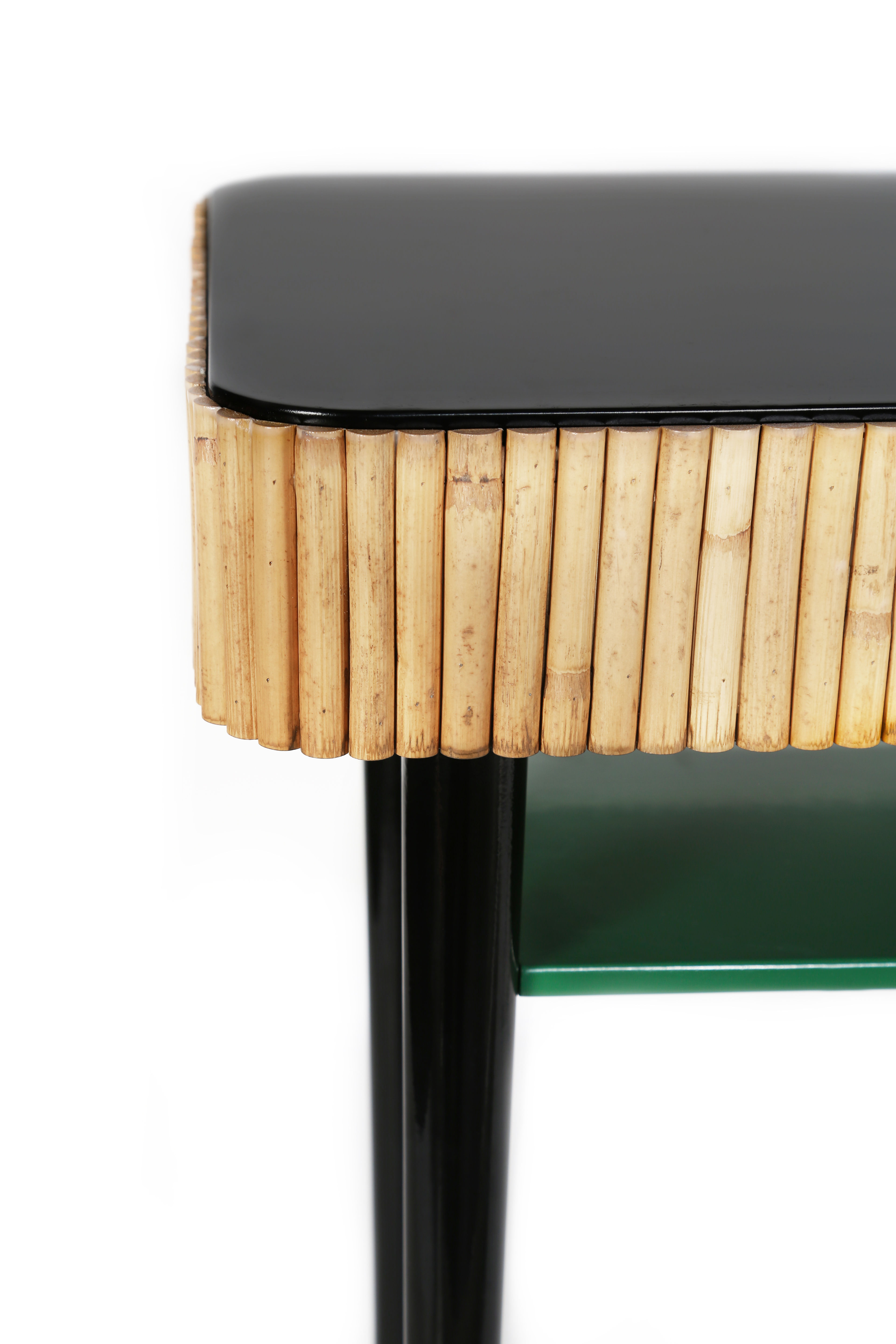 Riviera Console - / Rattan - Drawermaison Sarah Lavoine inside Natural Cane Media Console Tables (Image 22 of 30)