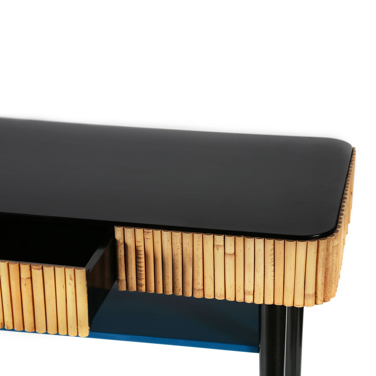 Riviera Console - / Rattan - Drawermaison Sarah Lavoine regarding Natural Cane Media Console Tables (Image 23 of 30)