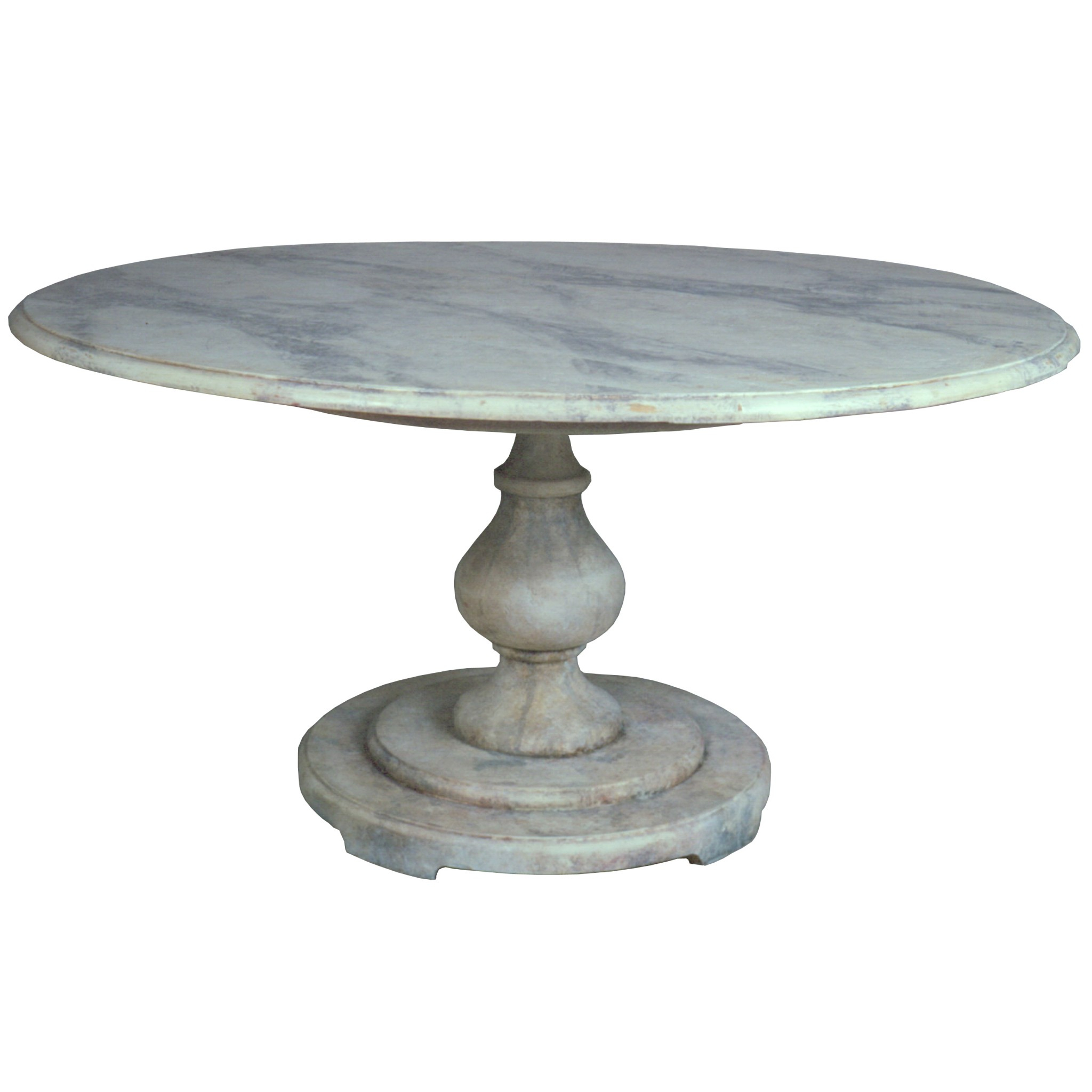 Roman Garden Pedestal Table | Niermann Weeks Pertaining To Roman Metal Top Console Tables (View 23 of 30)