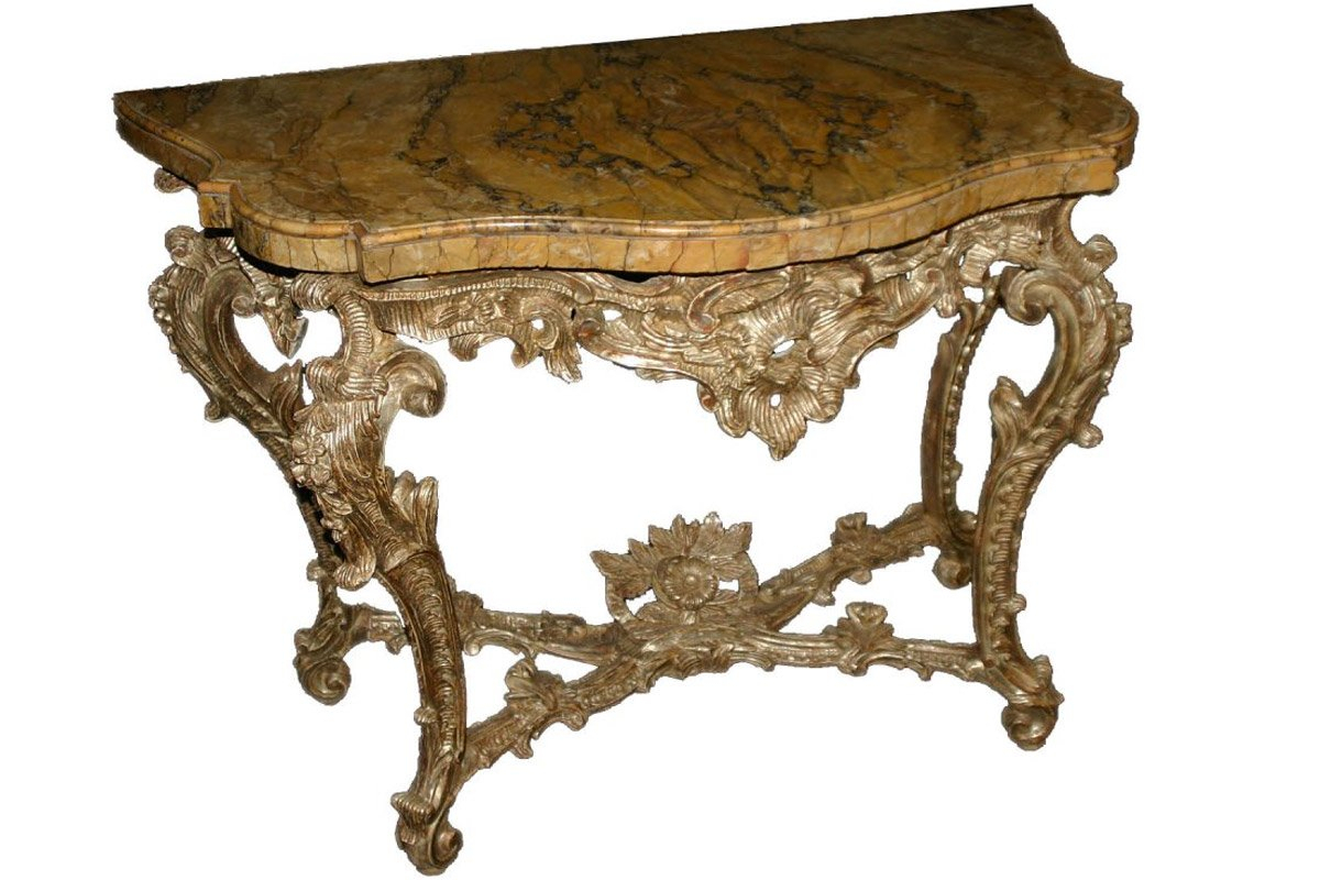 Roman, Rococo Period Console Table – Ref (View 13 of 30)