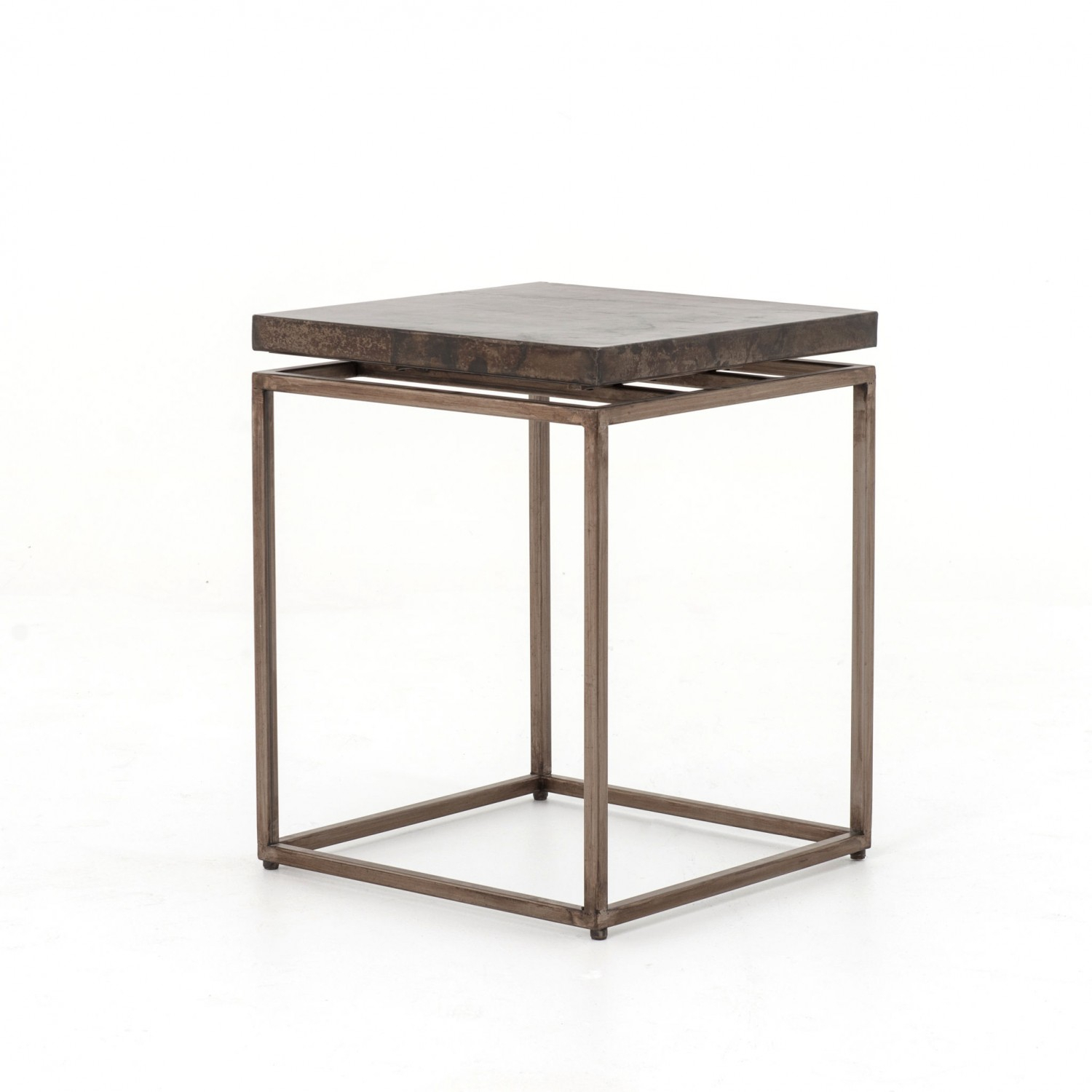 Roman Side Table | Industrial Home Pertaining To Roman Metal Top Console Tables (View 9 of 30)