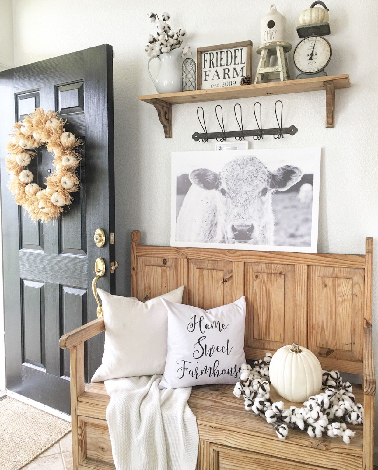 Rustic Farmhouse Entryway | Our Farmhouse | Farmhouse, Farmhouse With Regard To Bale Rustic Grey 82 Inch Tv Stands (View 18 of 30)