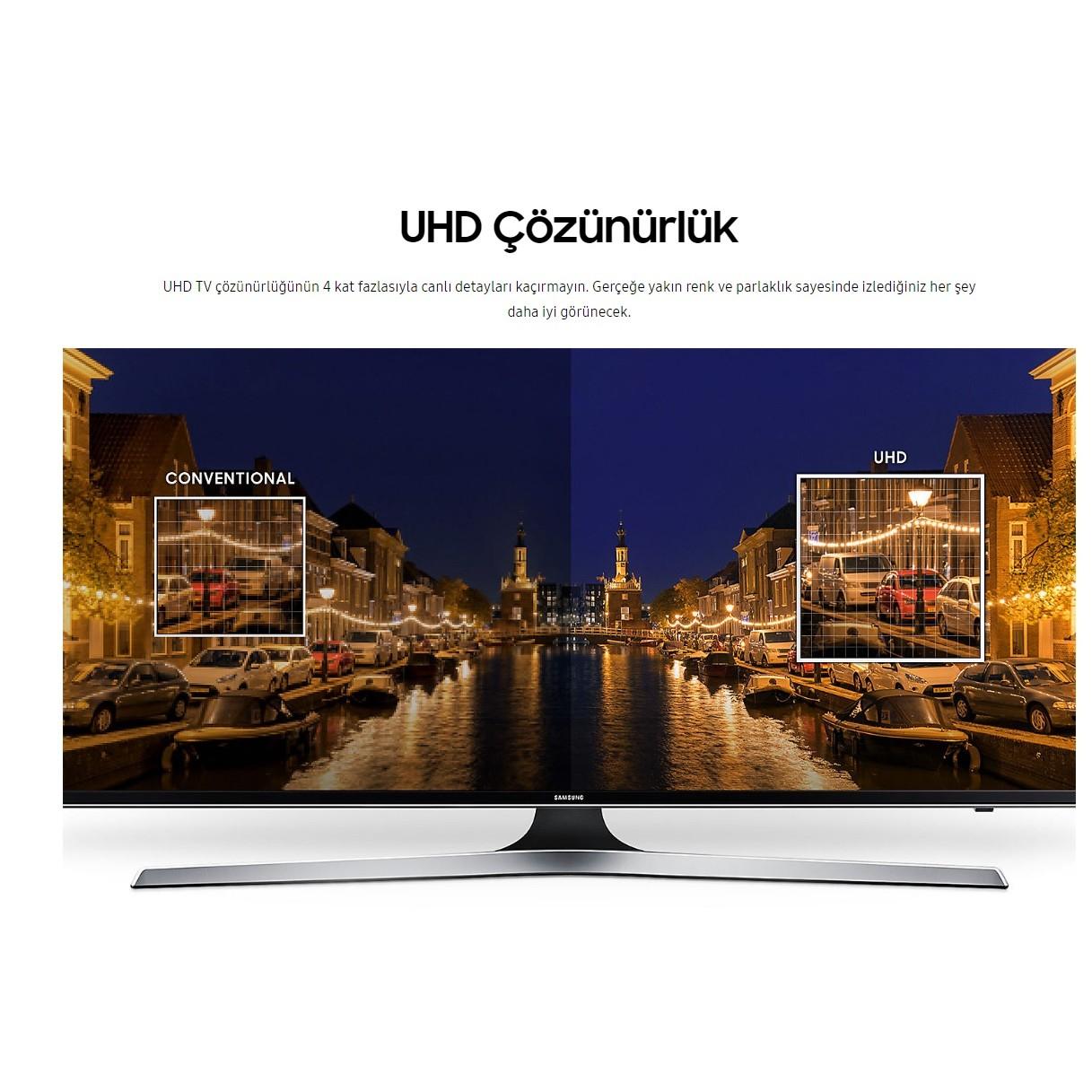 "Samsung 43mu7000 43"" 109 Ekran Uydu Alıcılı 4k Ultra Hd Smart Led Tv Within Ducar 74 Inch Tv Stands (View 24 of 30)"