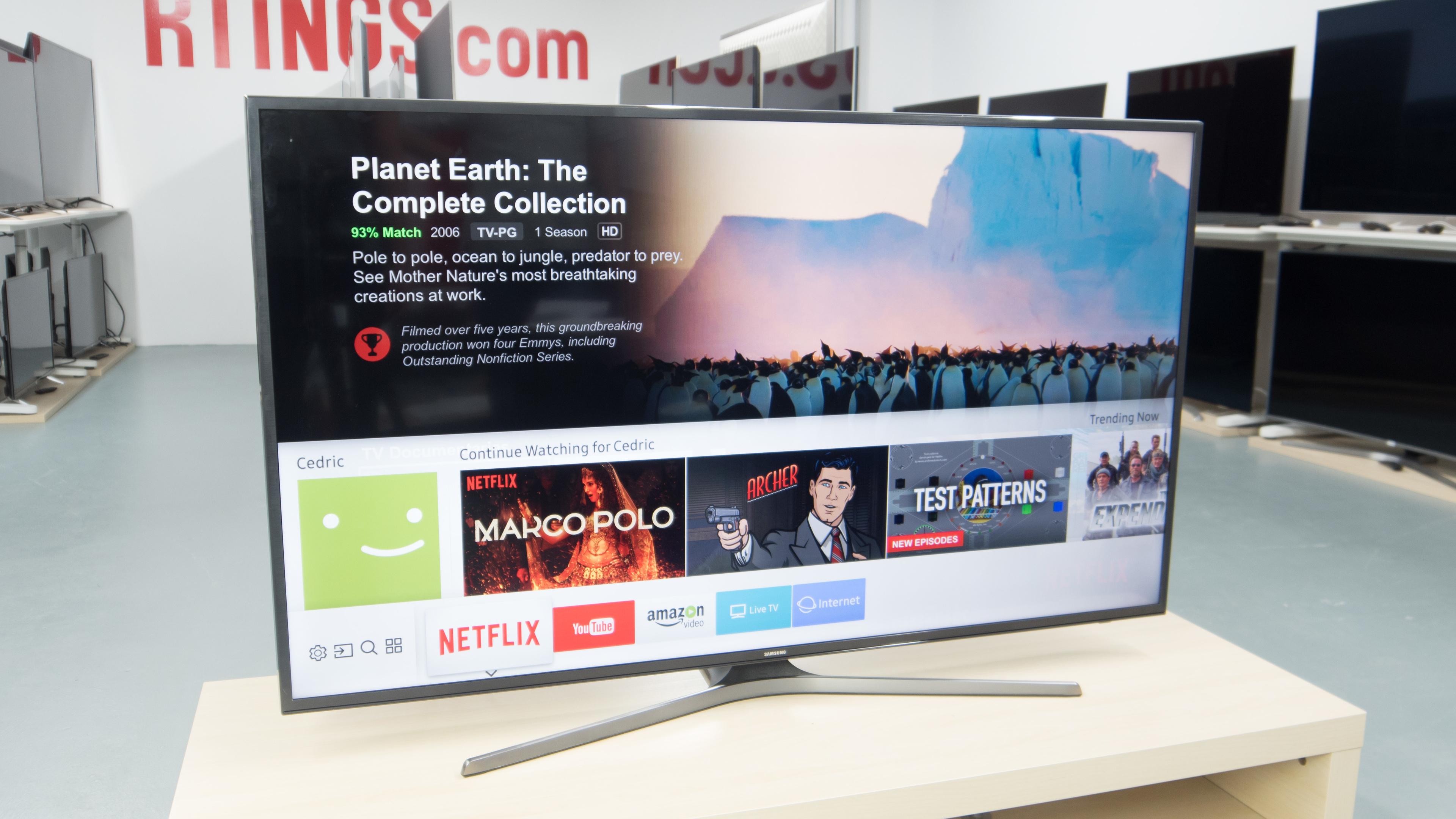 Samsung Mu6300 Review (Un40Mu6300, Un43Mu6300, Un50Mu6300 intended for Caden 63 Inch Tv Stands (Image 16 of 30)