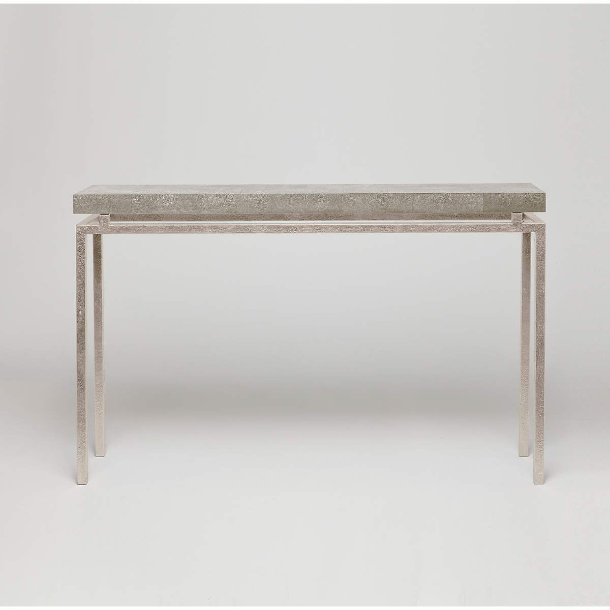 Sand Faux Shagreen Benjamin Narrow Console | Furniture | Pinterest Throughout Era Limestone Console Tables (View 5 of 30)