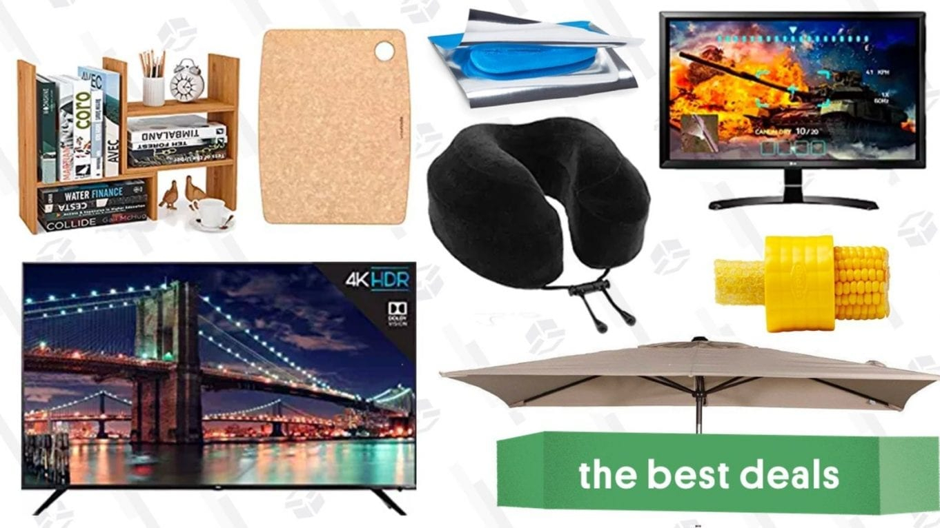 Saturday's Best Deals: 4K Smart Tvs, Travel Pillows, Umbrellas, And within Maddy 60 Inch Tv Stands (Image 19 of 30)