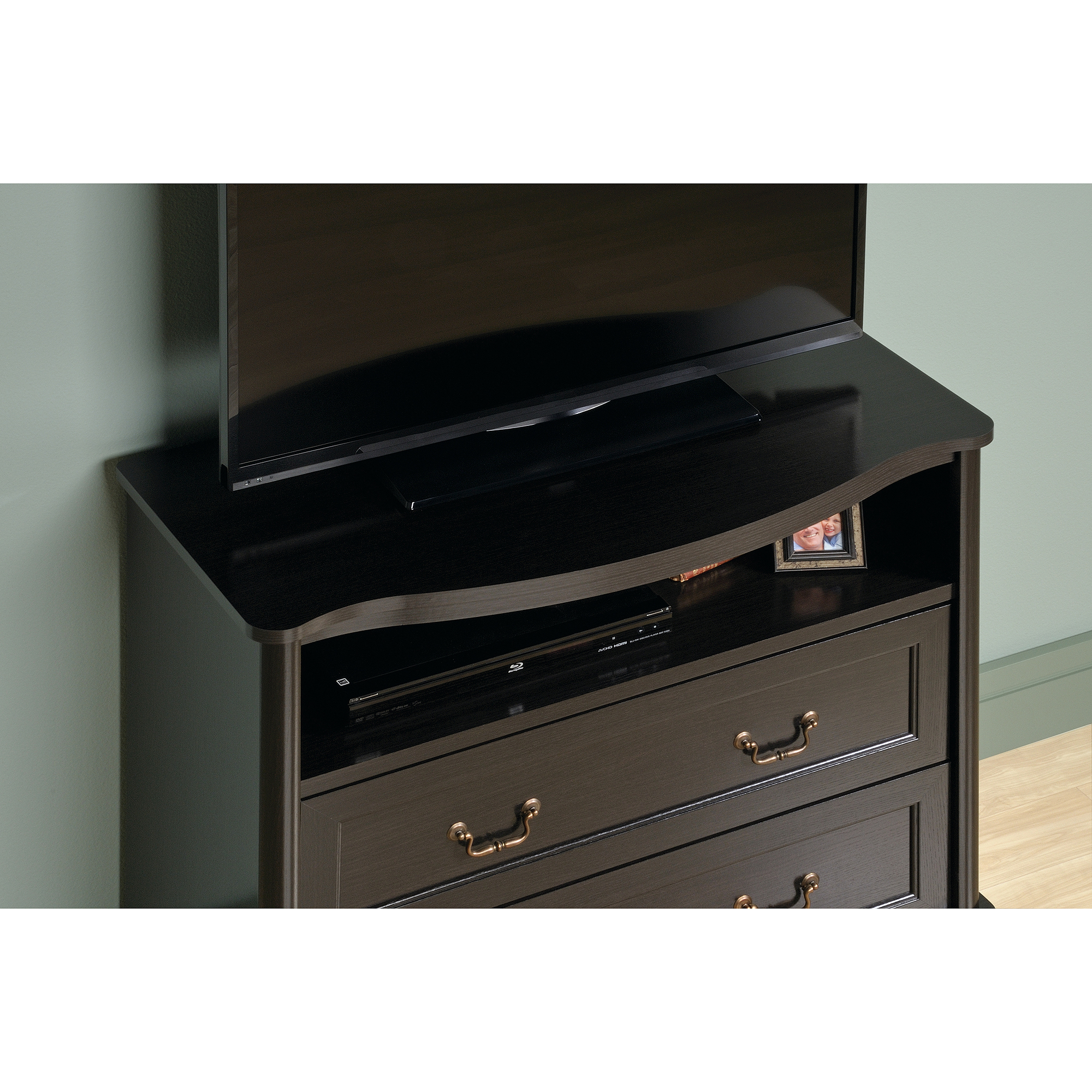 Sauder Wakefield Furniture Collection – Walmart Within Wakefield 85 Inch Tv Stands (View 9 of 30)