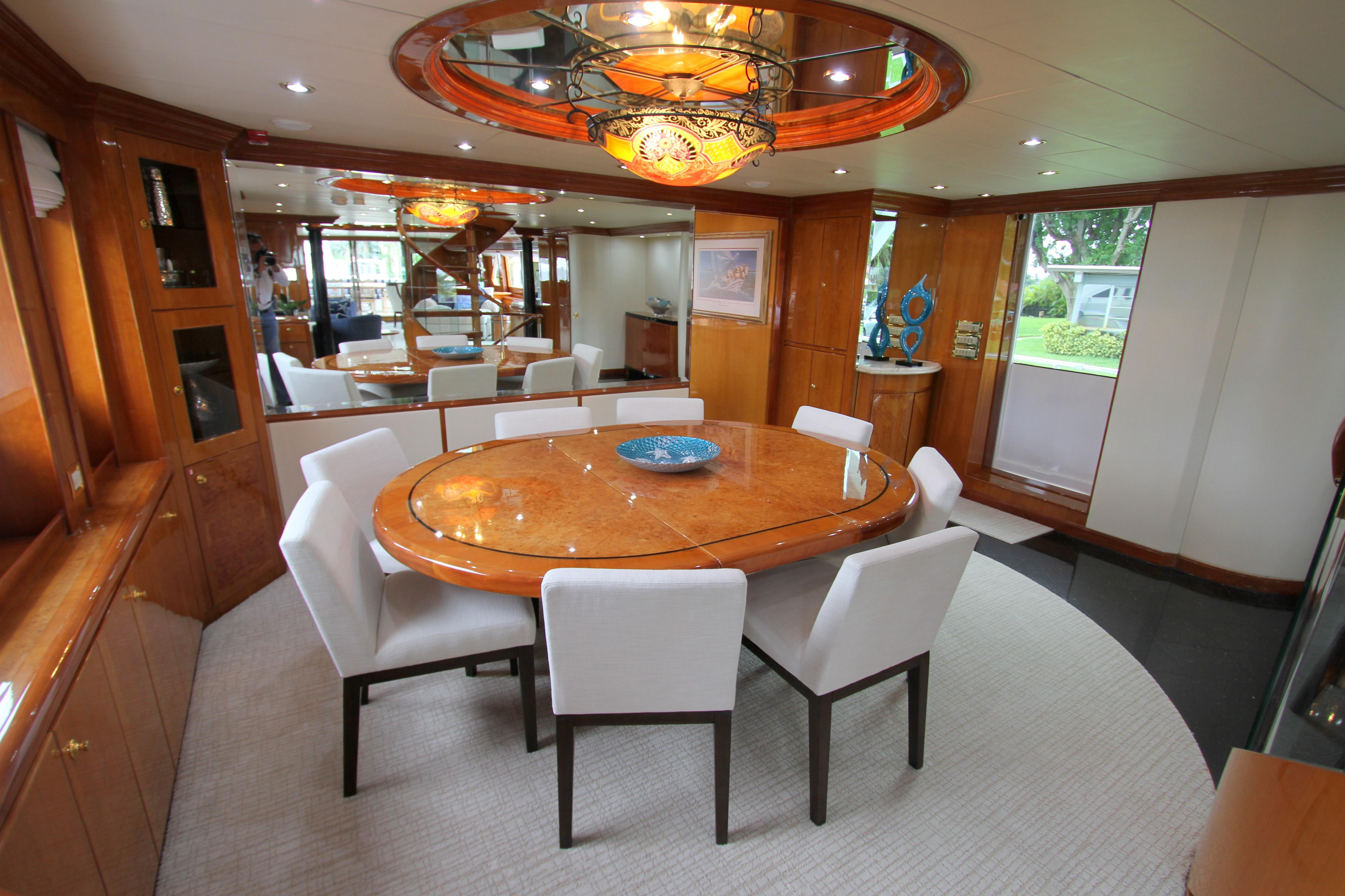 Sea Star Hargrave 2001 Tri-Deck 109 Yacht For Sale In Us for Mikelson Media Console Tables (Image 21 of 30)