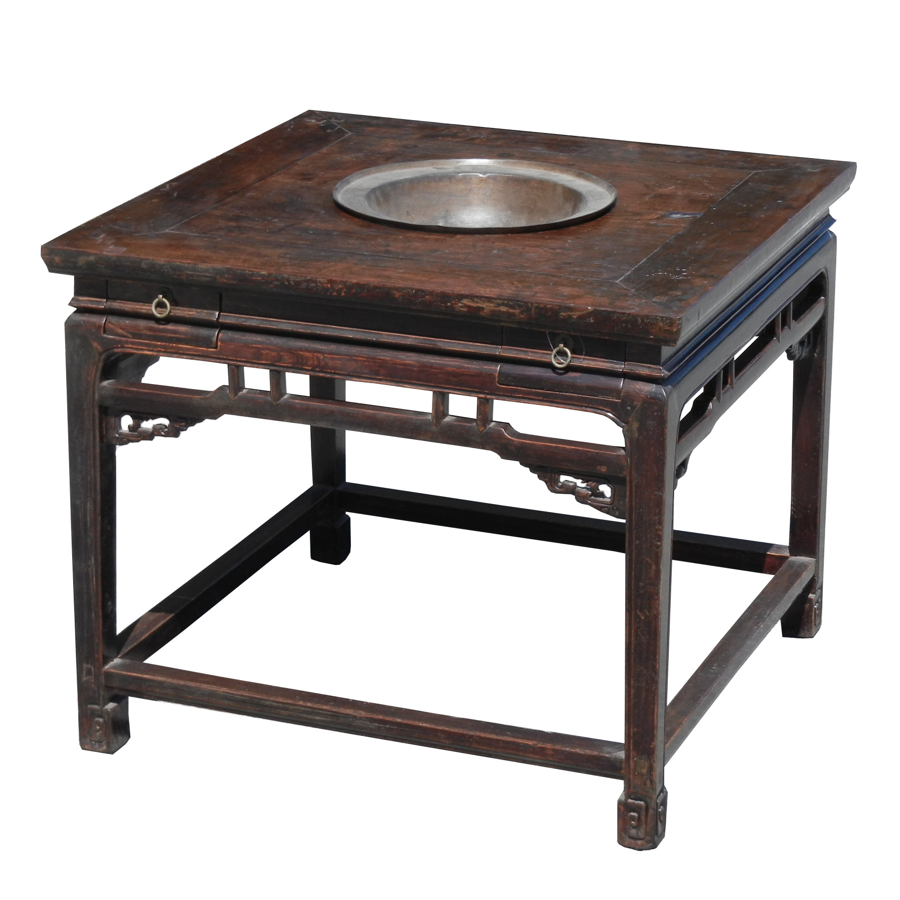 Shen's Gallery | Chinese Antiques | Side Table & Square Table | Bay Area Throughout Layered Wood Small Square Console Tables (View 6 of 30)