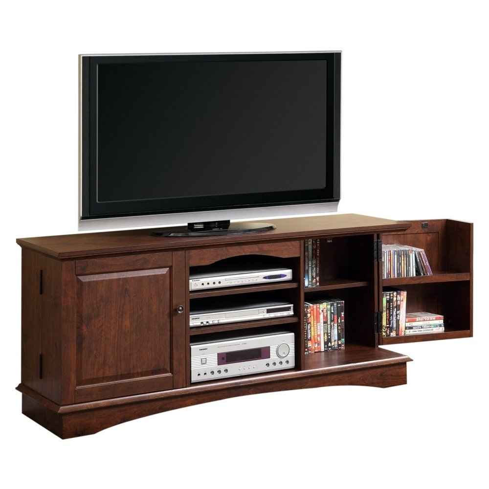 """Shop 57"""" Tv Stand Console – Traditional Brown – 57 X 16 X 25H – Free Within Century Sky 60 Inch Tv Stands (View 21 of 30)"""