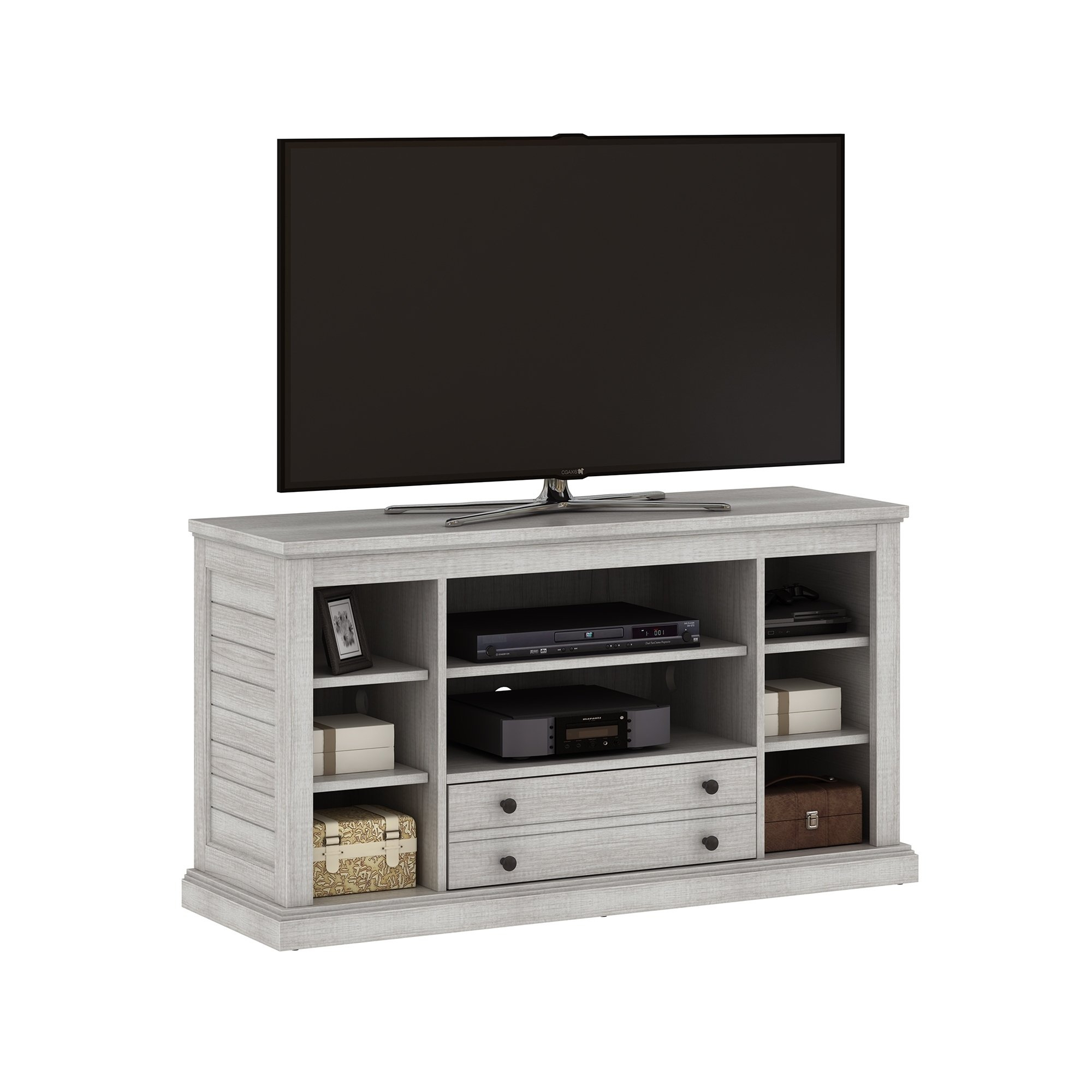 "Shop Abbott Commons Tv Stand For Tvs Up To 55"", Sargent Oak - Free intended for Abbot 60 Inch Tv Stands (Image 20 of 30)"