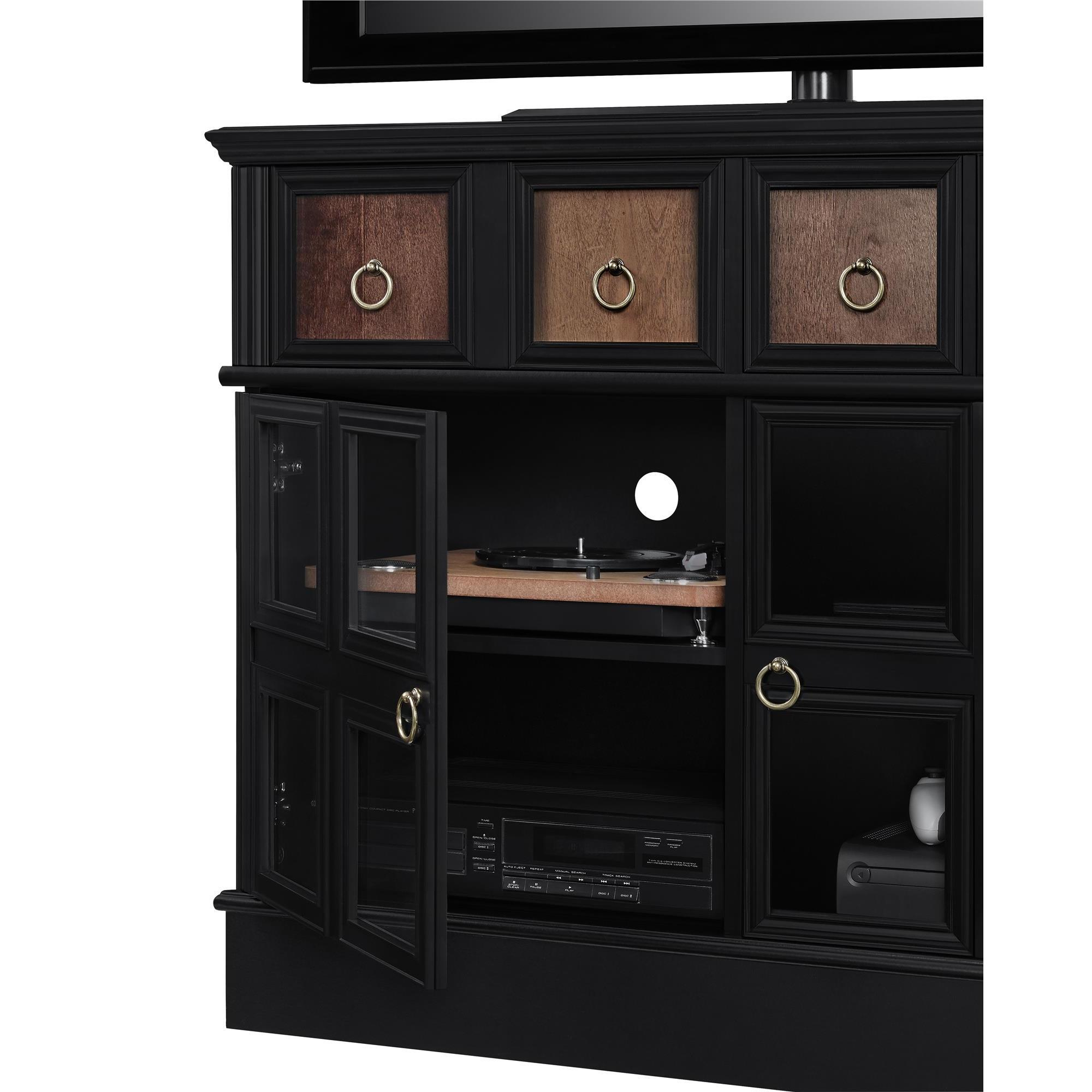 Shop Avenue Greene Wakefield Apothecary 42 Inch Black Tv Console Intended For Wakefield 97 Inch Tv Stands (View 7 of 30)