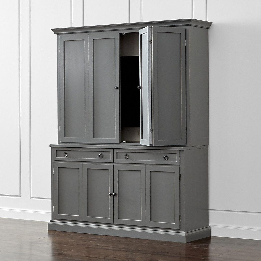 Shop Cameo 2-Piece Grey Entertainment Center. This Modular Tv Stand throughout Sinclair Grey 68 Inch Tv Stands (Image 19 of 30)