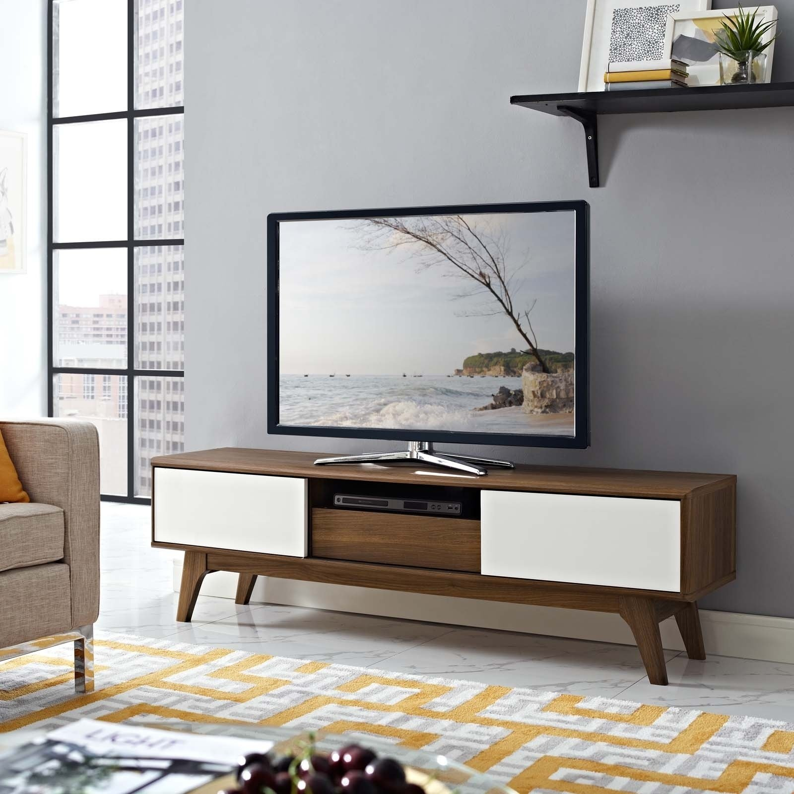 """Shop Envision 59"""" Tv Stand – 59 Inches – Free Shipping Today Throughout Rowan 45 Inch Tv Stands (View 18 of 30)"""