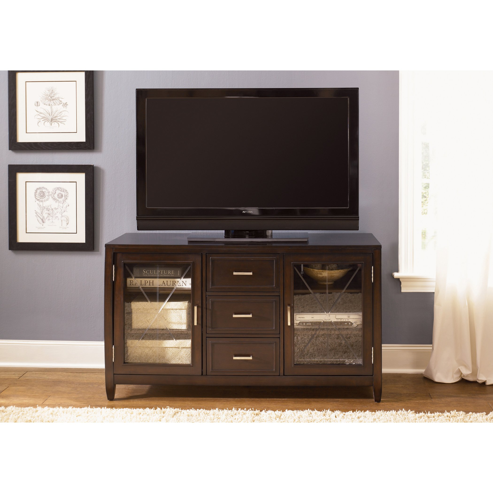 Shop Liberty Caroline 60 Inch Entertainment Tv Stand – On Sale Inside Laurent 60 Inch Tv Stands (View 7 of 30)