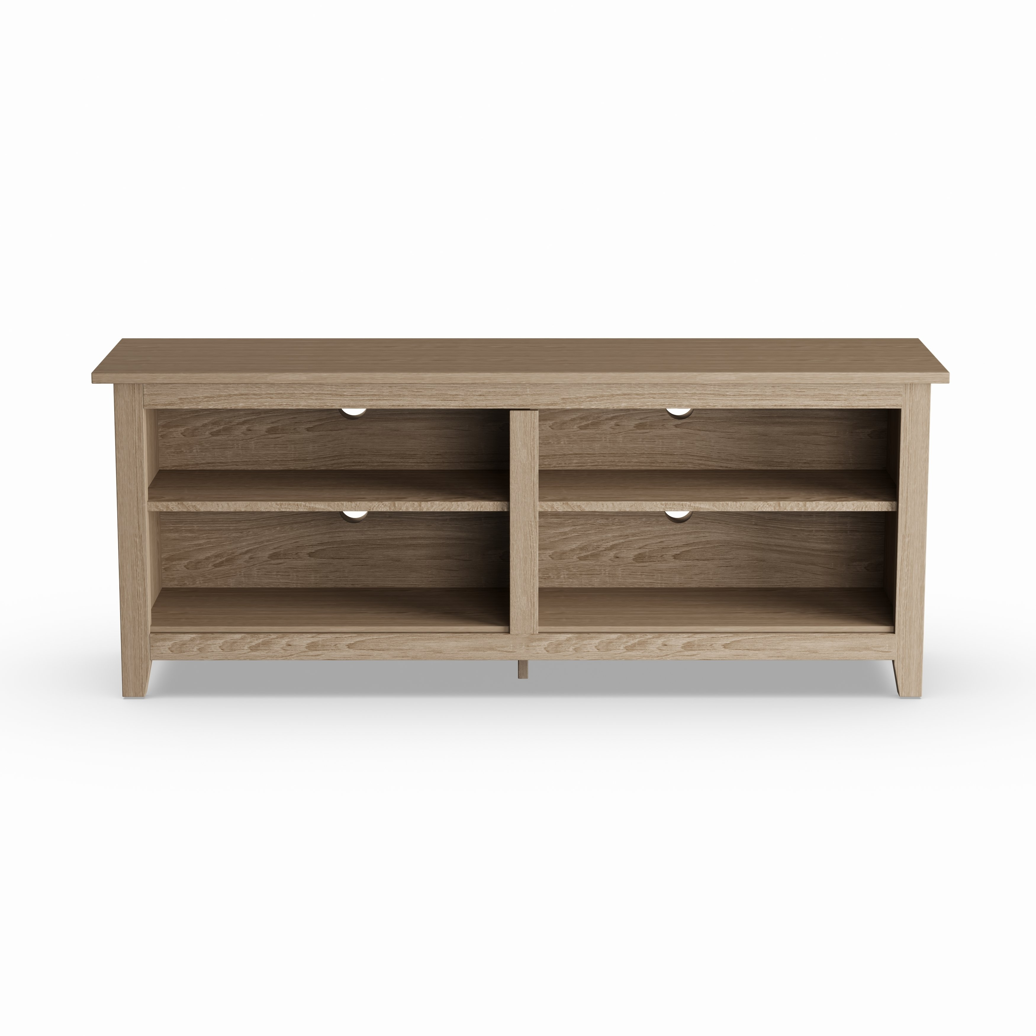 Shop Porch & Den Dexter 58-Inch Driftwood Tv Stand - Free Shipping regarding Abbot 60 Inch Tv Stands (Image 24 of 30)
