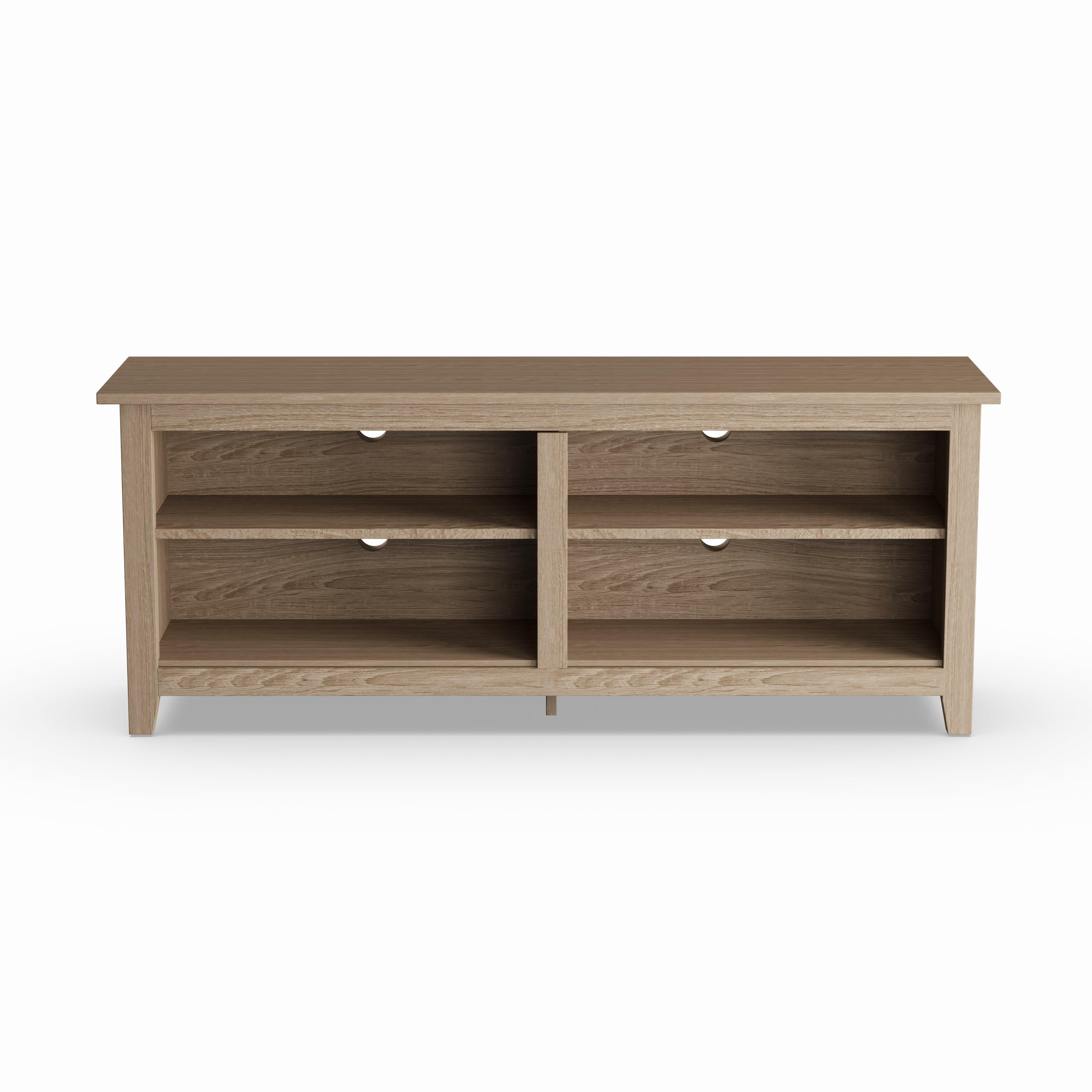 Shop Porch & Den Dexter 58 Inch Driftwood Tv Stand – Free Shipping Regarding Abbott Driftwood 60 Inch Tv Stands (View 5 of 30)