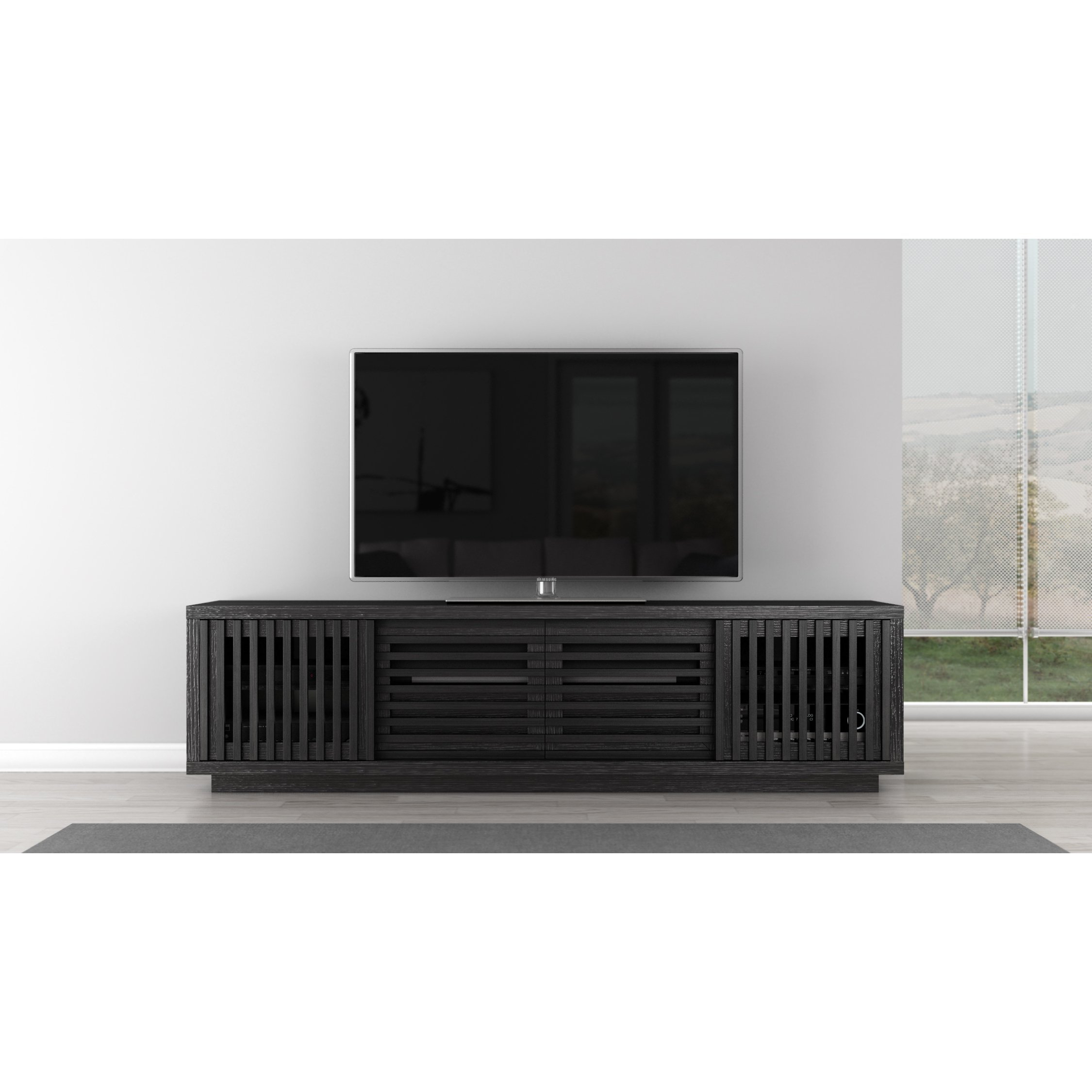 Shop Rustic 82 Inch Tv Stand Media Console – Free Shipping Today Throughout Laurent 60 Inch Tv Stands (View 17 of 30)